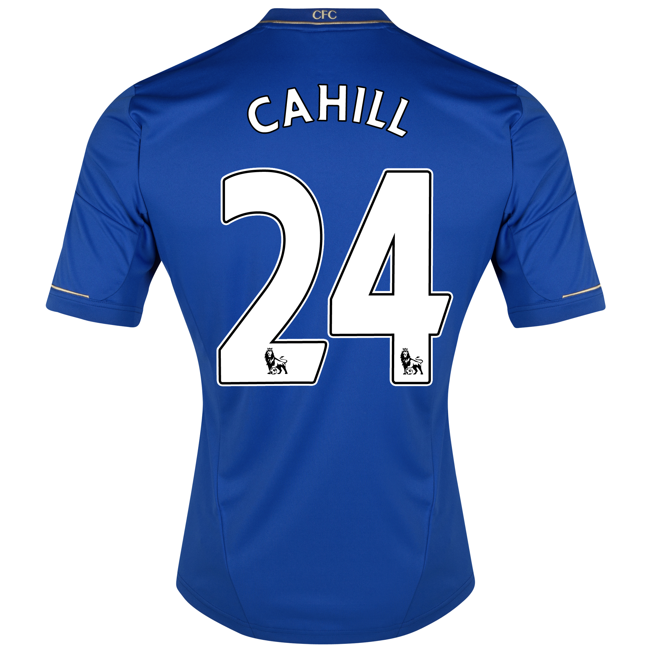 Chelsea Home Shirt 2012/13 - Outsize with Cahill 24 printing