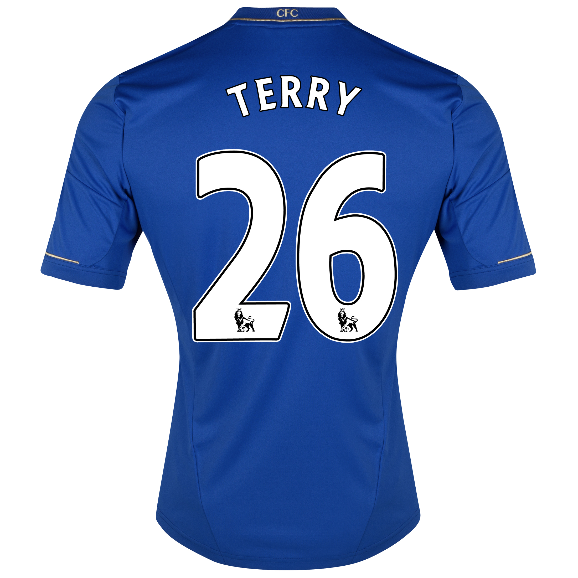 Chelsea Home Shirt 2012/13 - Outsize with Terry 26 printing
