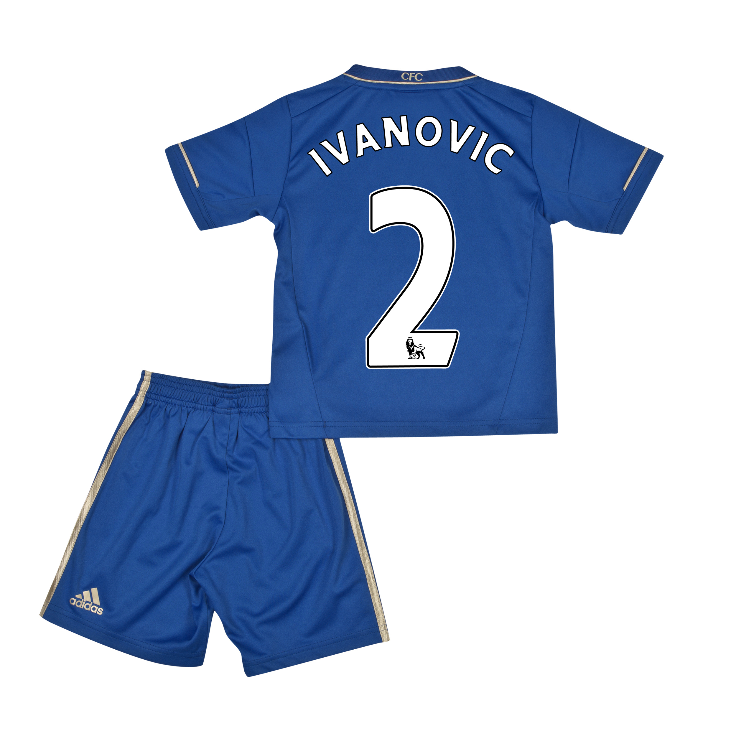 Chelsea Home Mini Kit 2012/13 with Ivanovic 2 printing