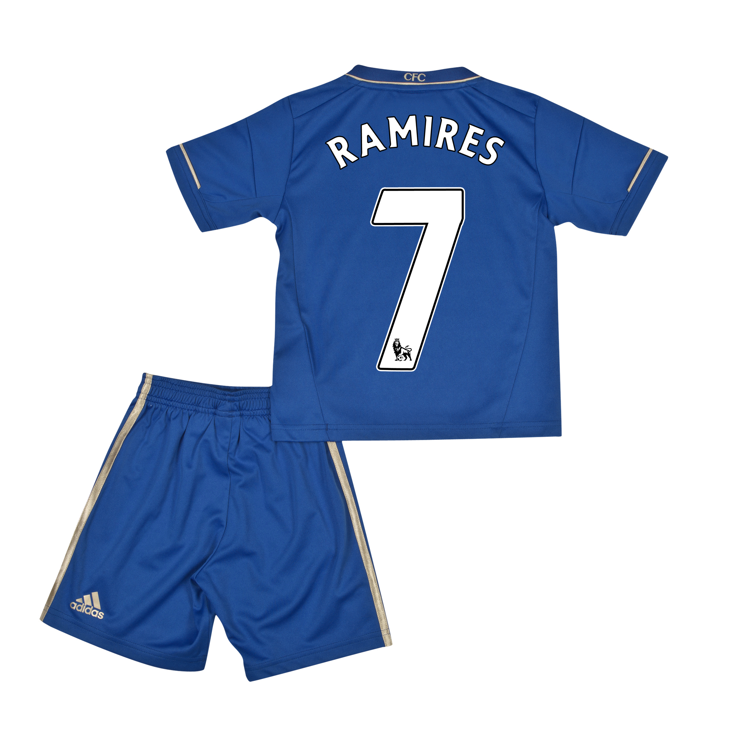 Chelsea Home Mini Kit 2012/13 with Ramires 7 printing