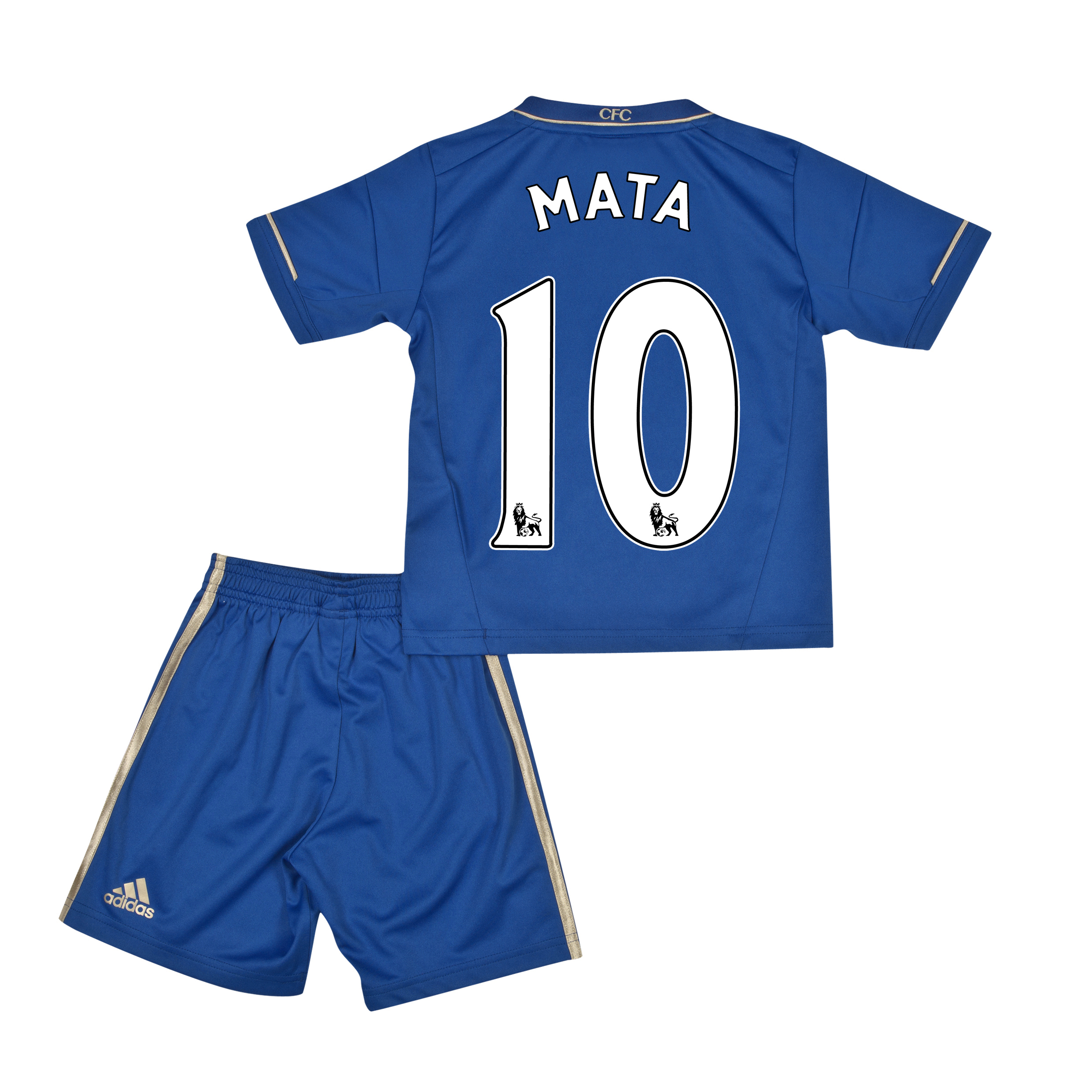 Chelsea Home Mini Kit 2012/13 with Mata 10 printing
