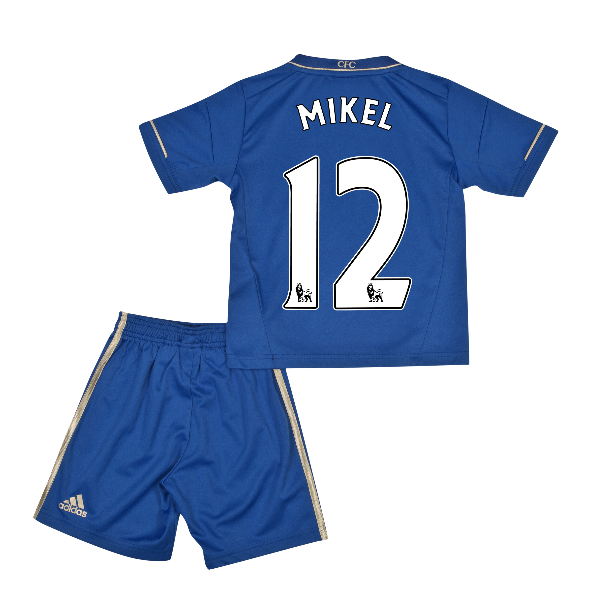 Chelsea Home Mini Kit 2012/13 with Mikel 12 printing