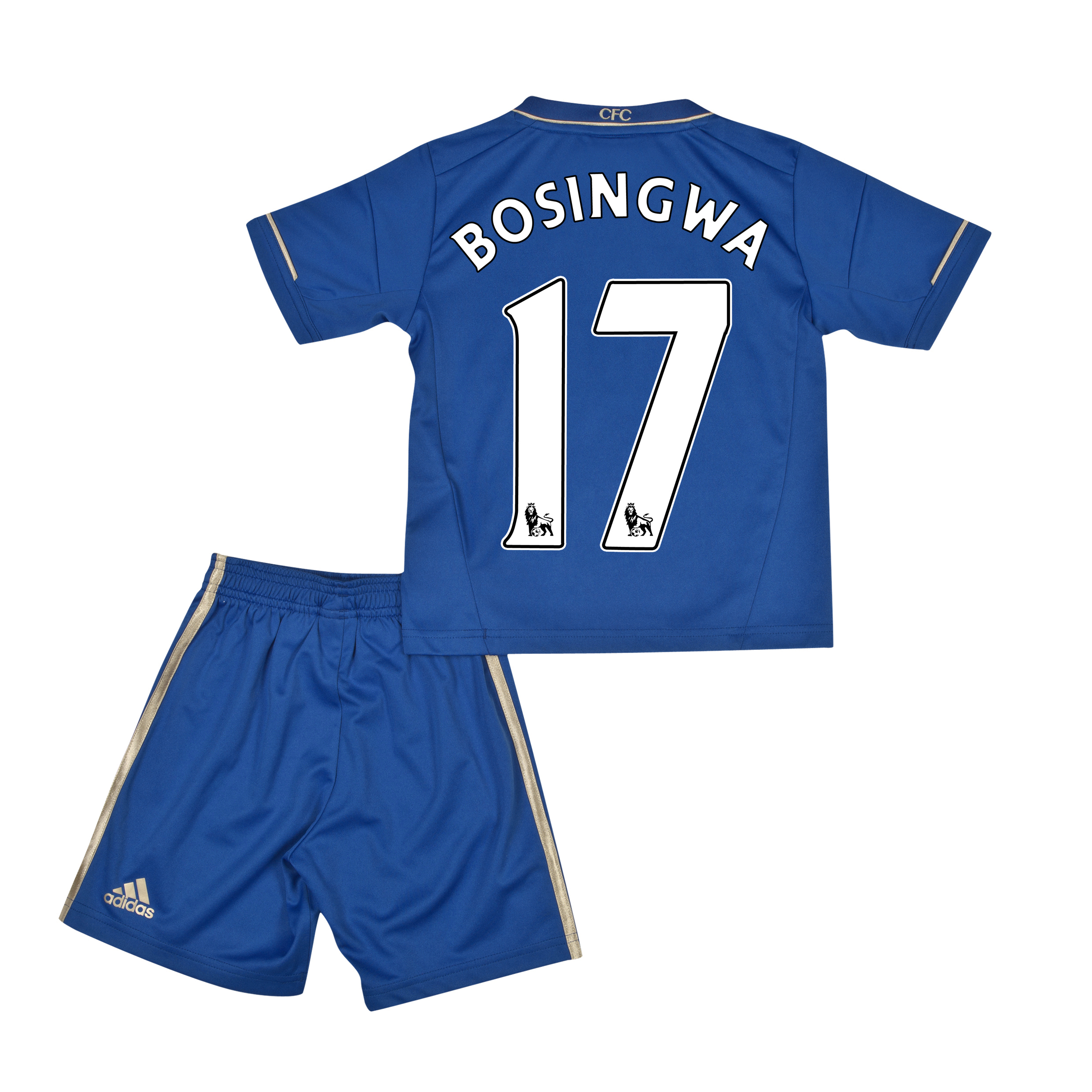 Chelsea Home Mini Kit 2012/13 with Bosingwa 17 printing