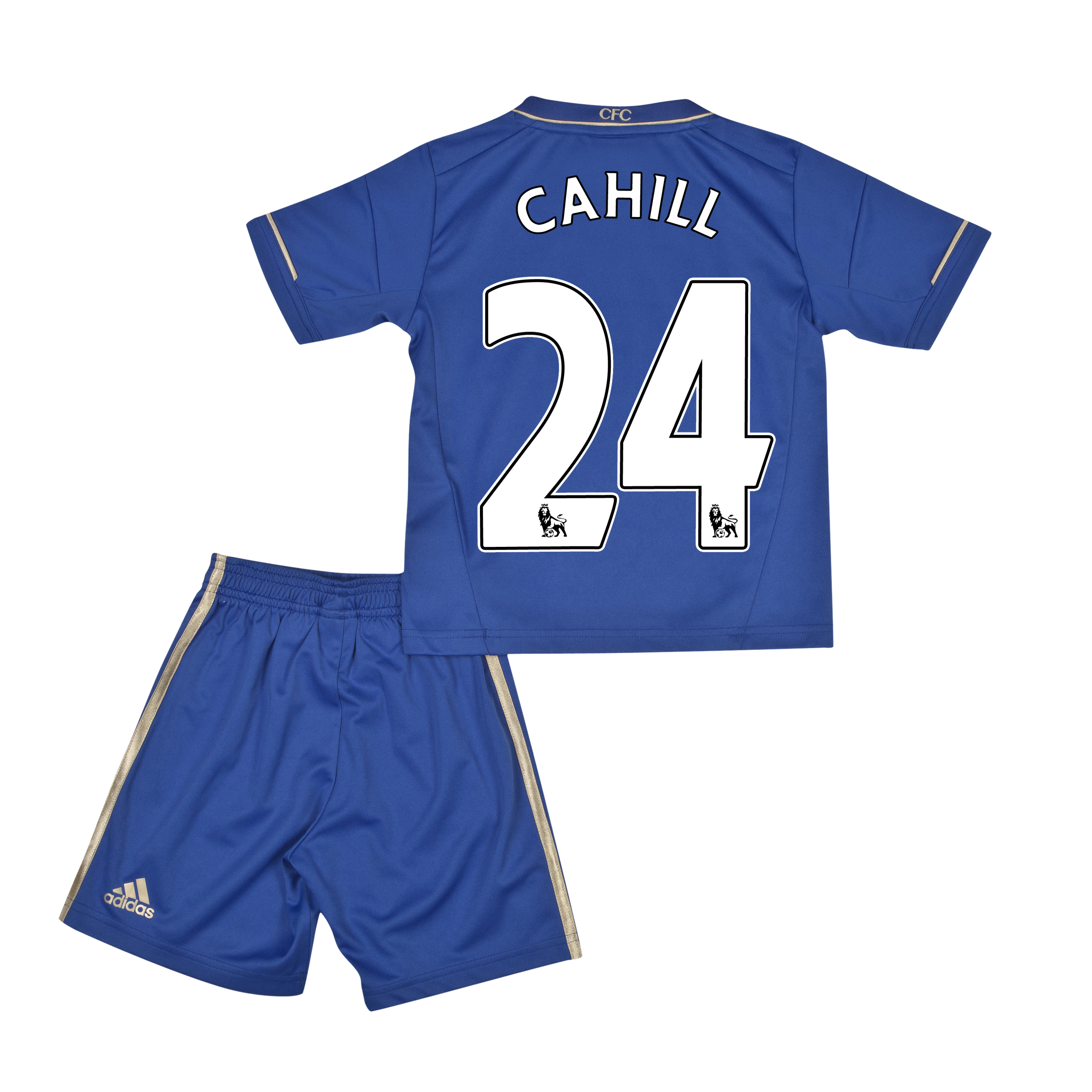 Chelsea Home Mini Kit 2012/13 with Cahill 24 printing