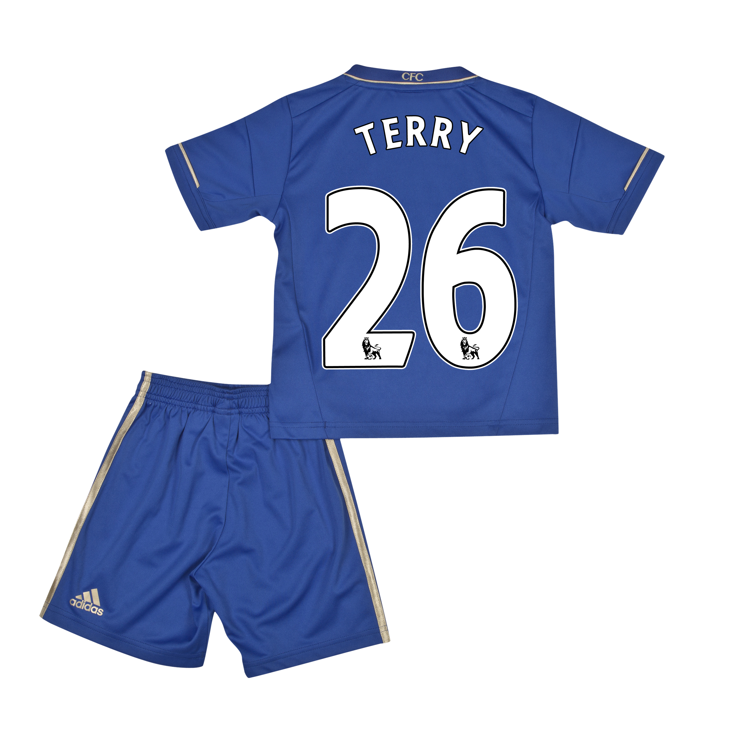 Chelsea Home Mini Kit 2012/13 with Terry 26 printing