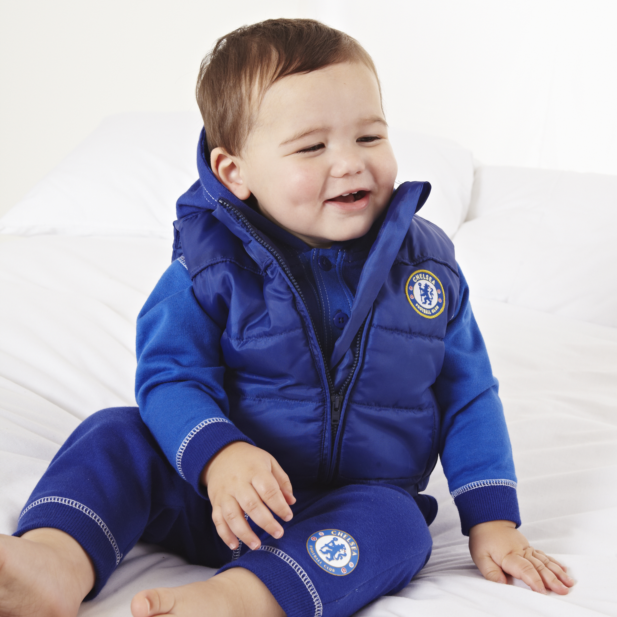 Chelsea Hareem Jog Suit - Navy/Royal Blue - Baby Boys