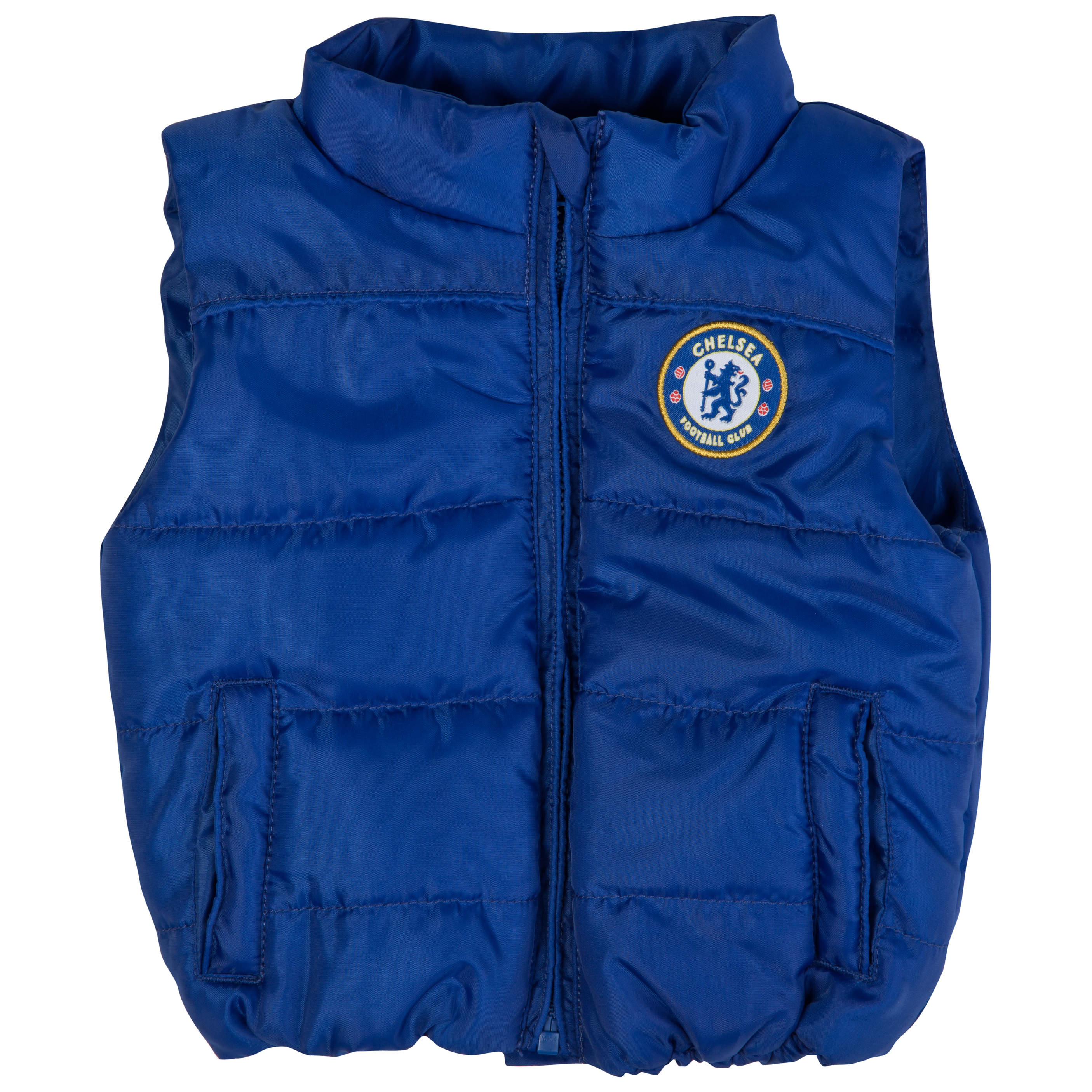 Chelsea Quilted Gilet - Navy - Baby Boys
