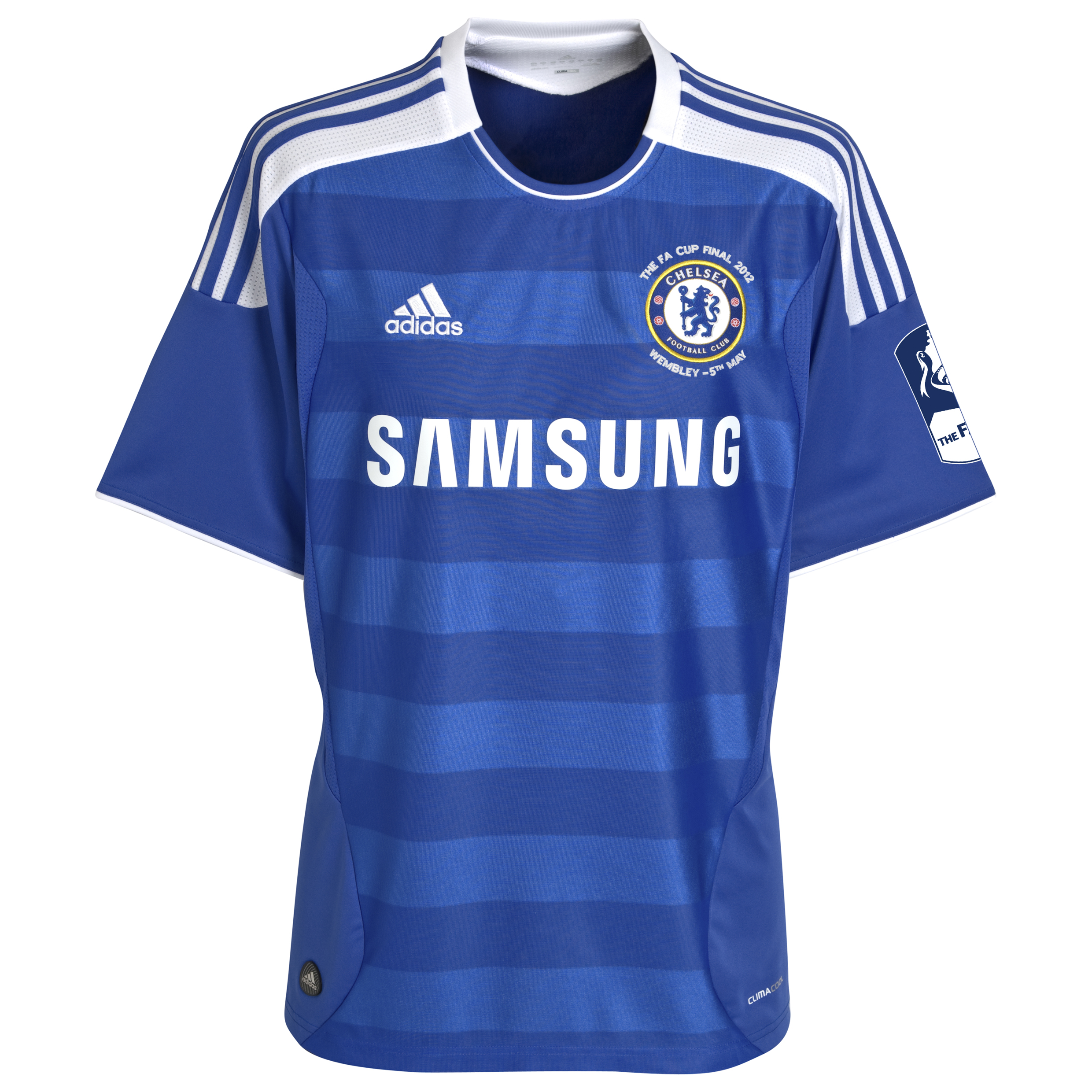 Chelsea Home FA Cup Shirt Including Embroidery 2011/12 - Kids