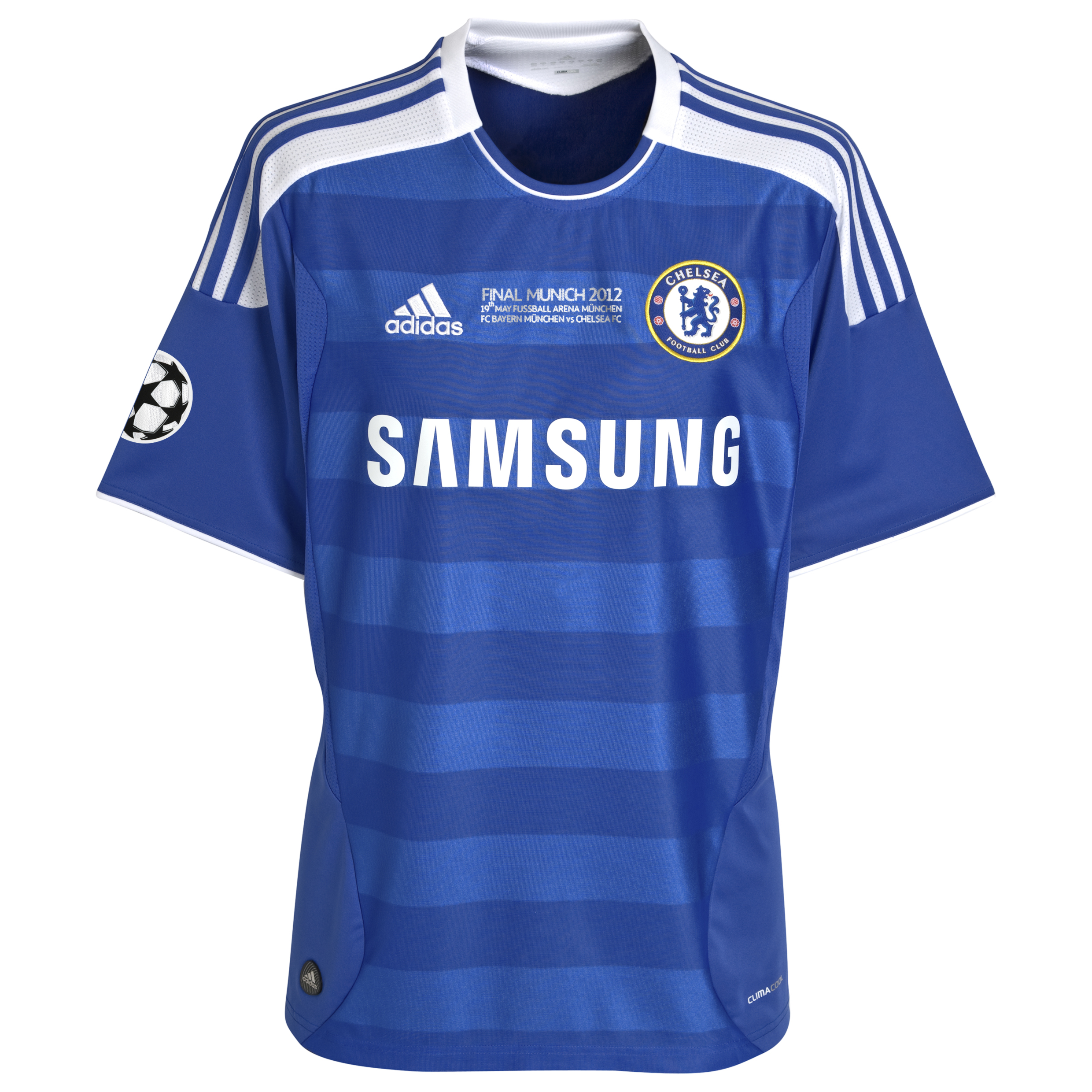 Chelsea Home Shirt 2011/12 Including Champions League Final Embroidery Kids