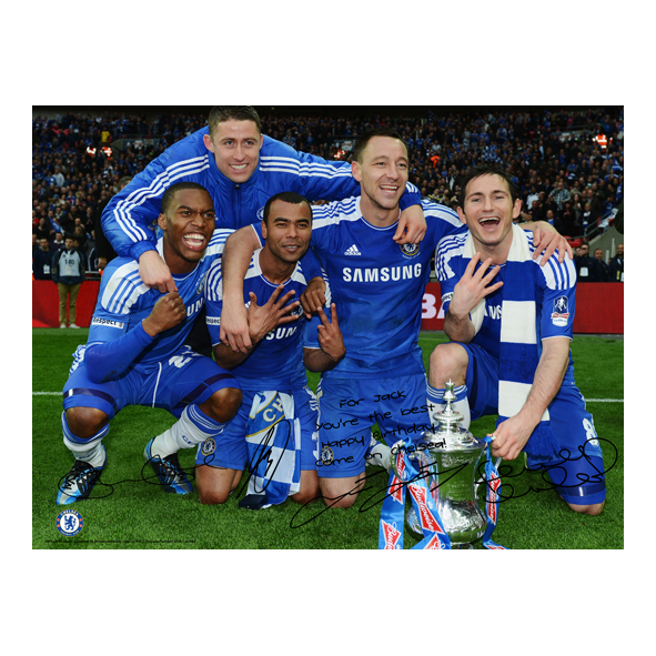 Chelsea Personalised The FA Cup Winners 6 Poster