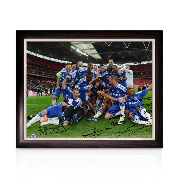 Chelsea Personalised The FA Cup Winners 5 Poster