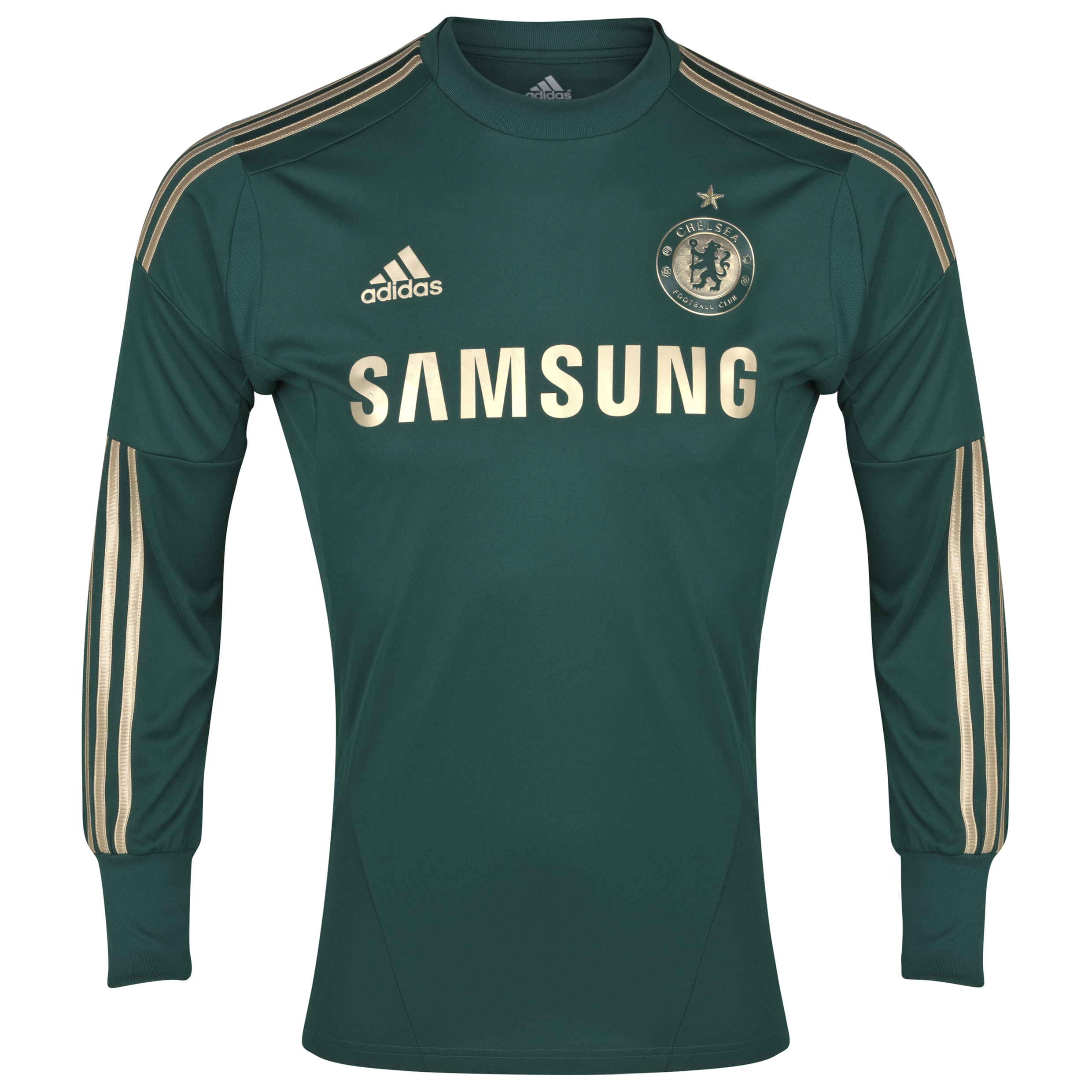 Chelsea Goalkeeper Shirt 2012/14 Including Gold Star
