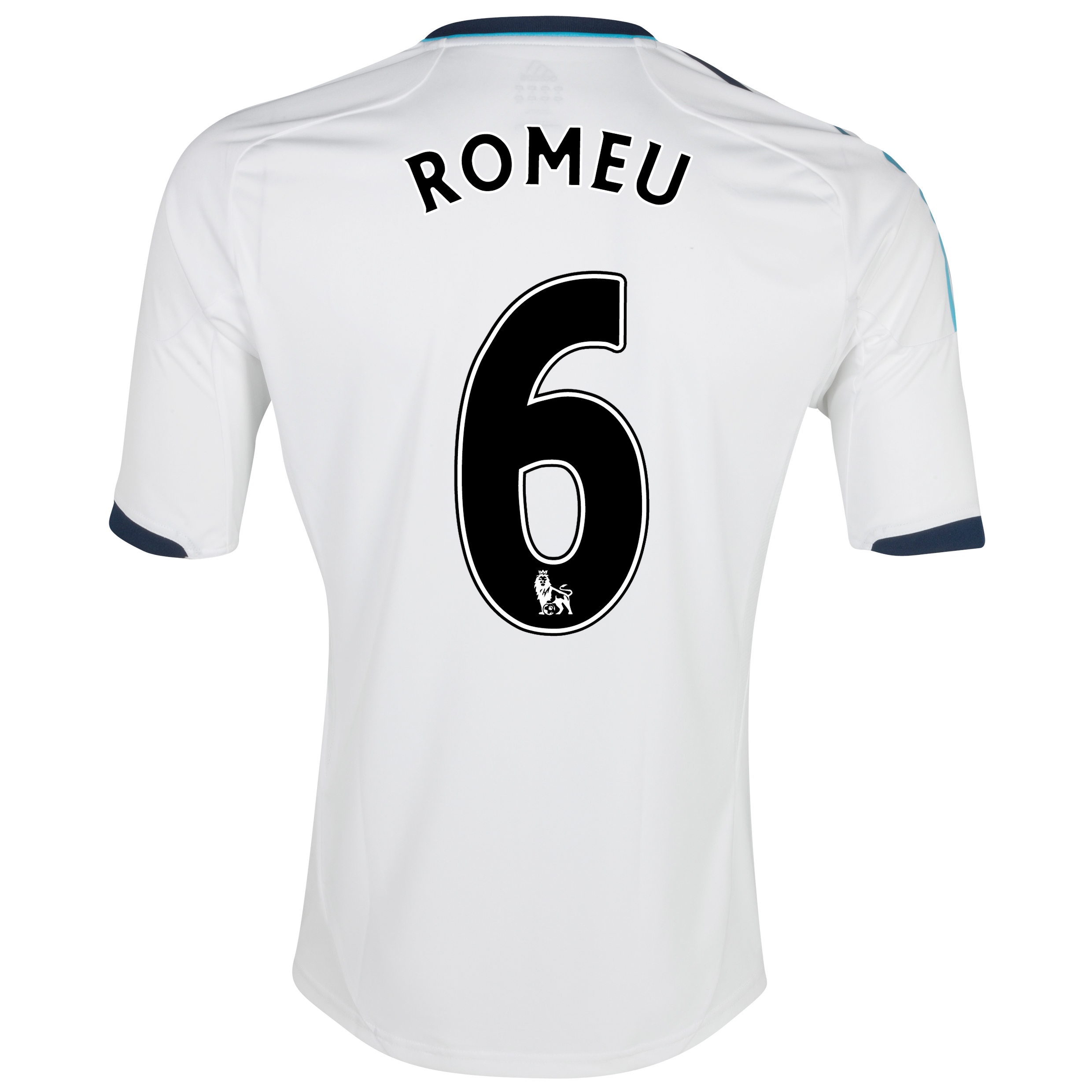 Chelsea Away Shirt 2012/13 with Romeu 6 printing