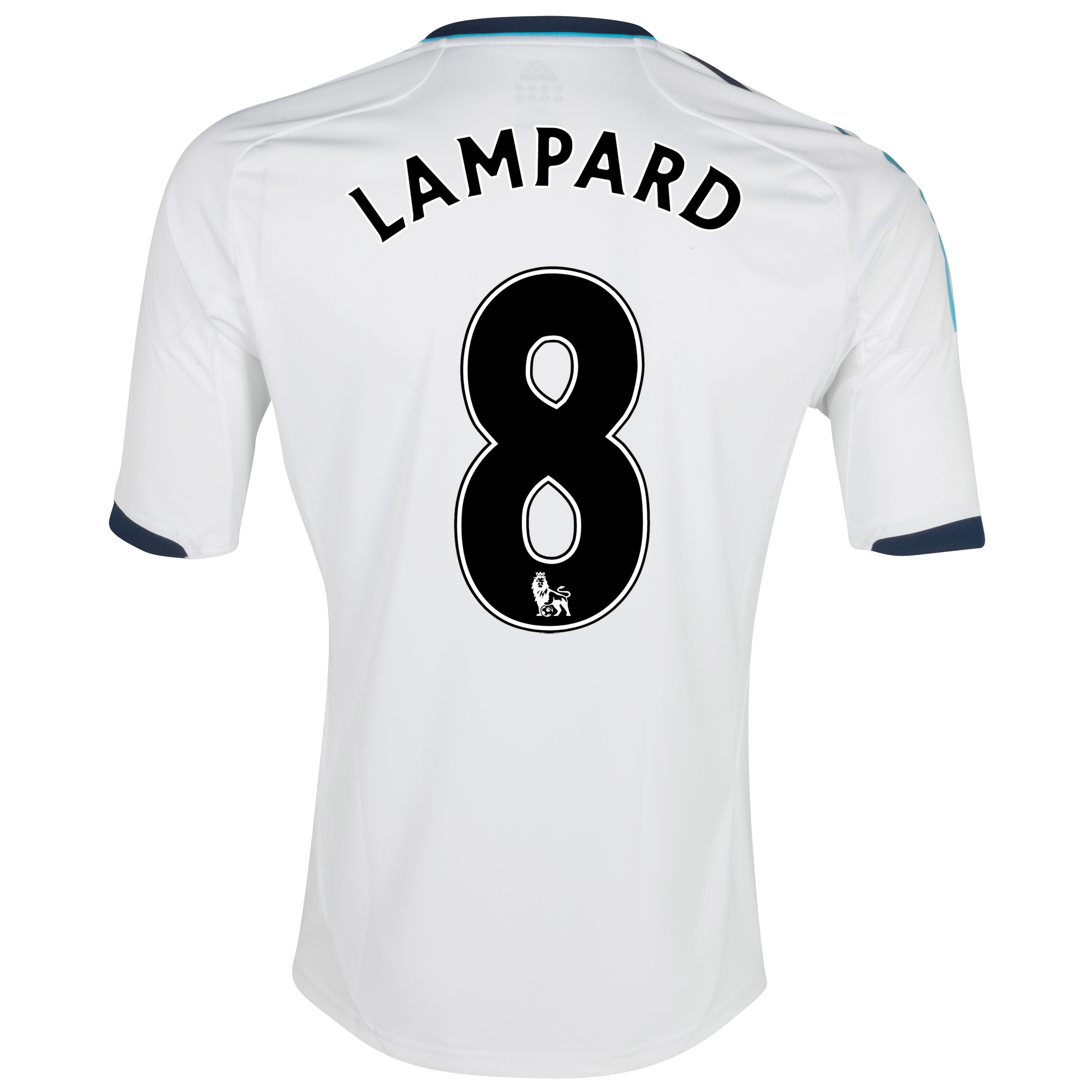 Chelsea Away Shirt 2012/13 with Lampard 8 printing