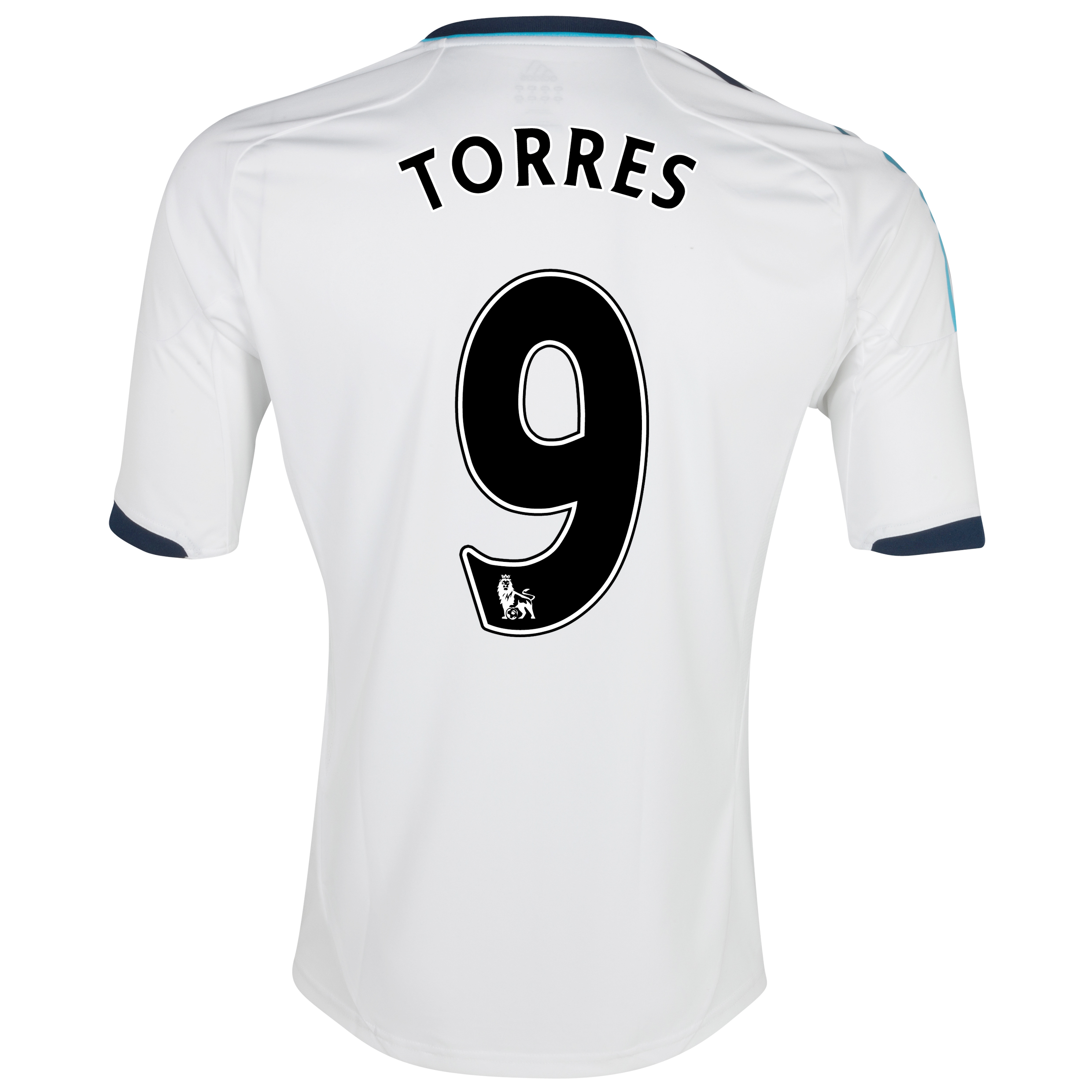 Chelsea Away Shirt 2012/13 with Torres 9 printing