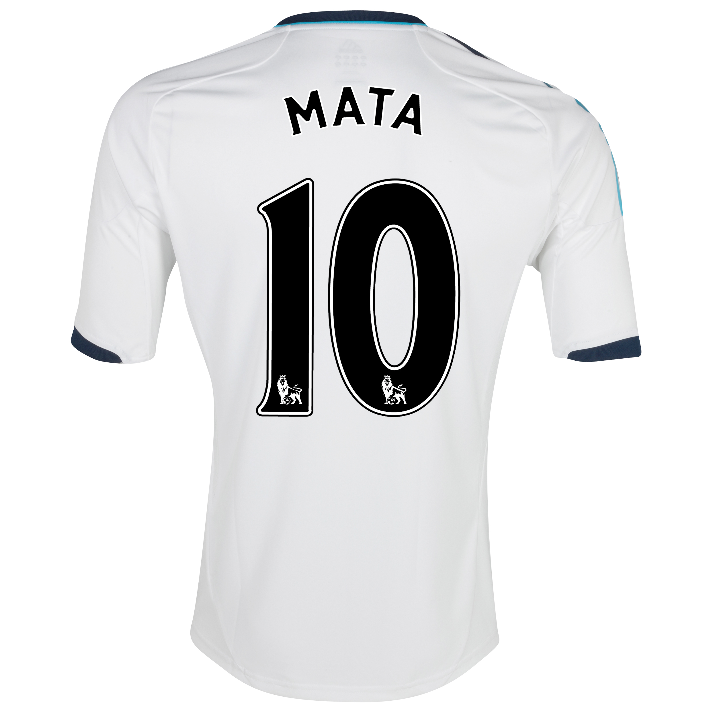 Chelsea Away Shirt 2012/13 with Mata 10 printing