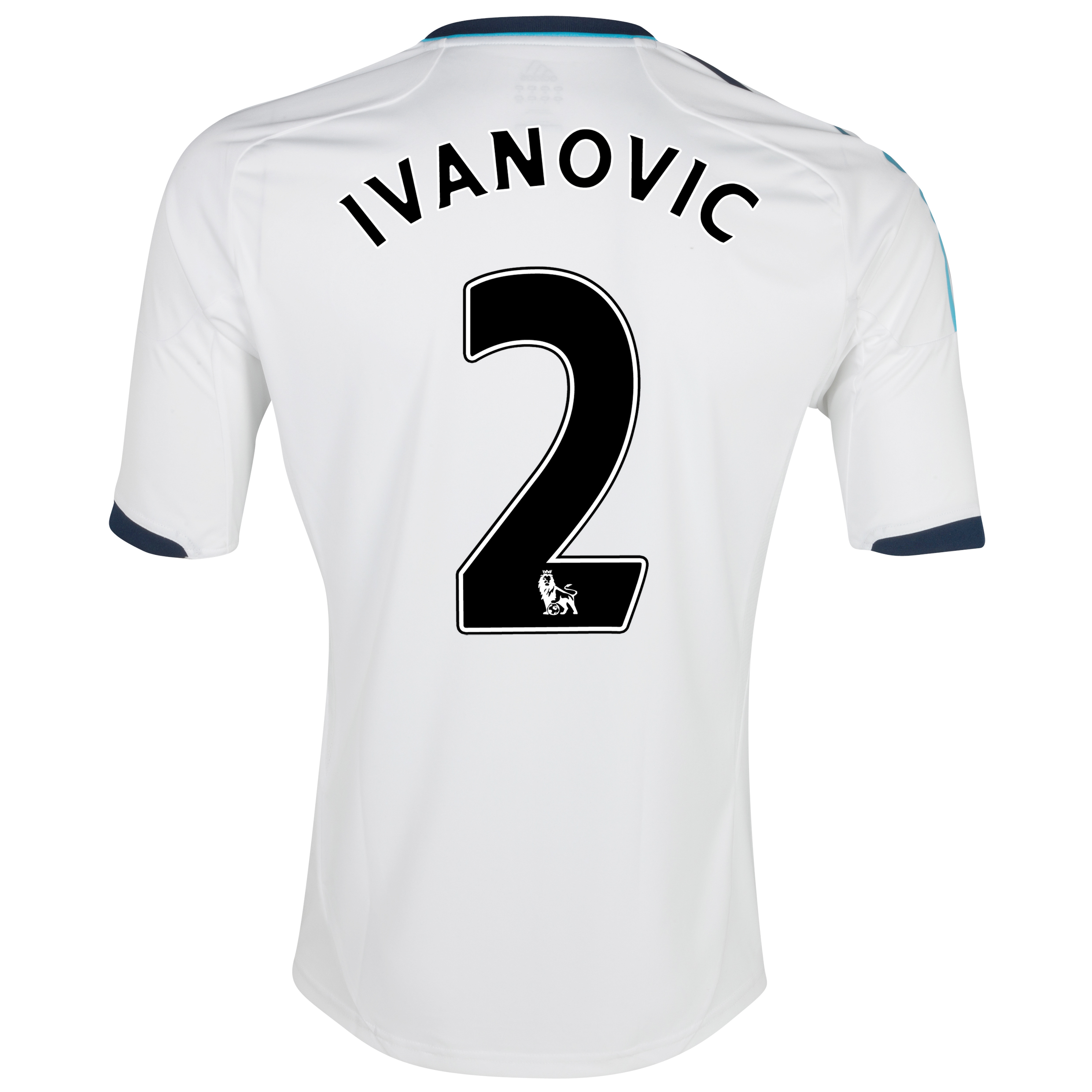 Chelsea Away Shirt 2012/13 - Kids with Ivanovic 2 printing