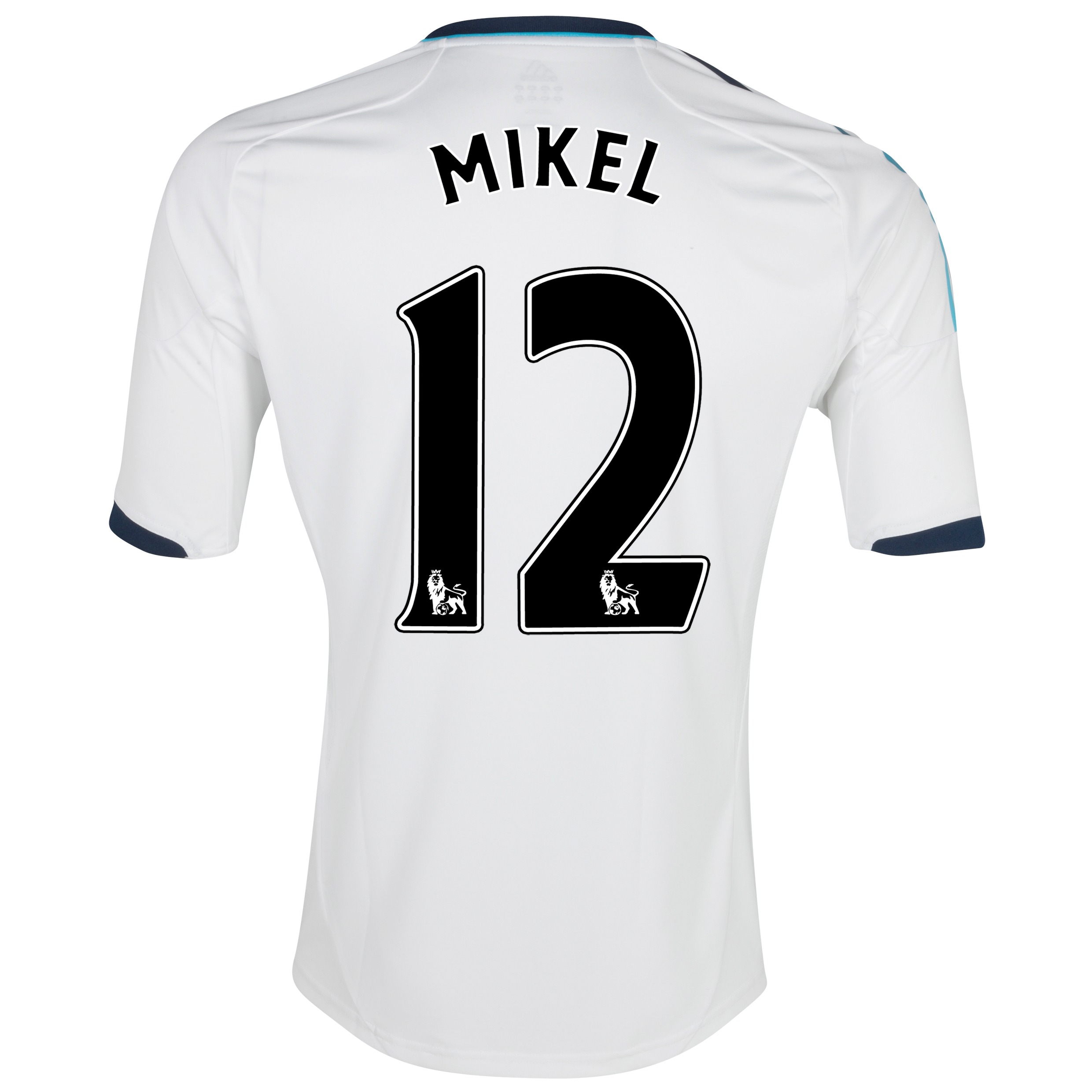 Chelsea Away Shirt 2012/13 - Kids with Mikel 12 printing
