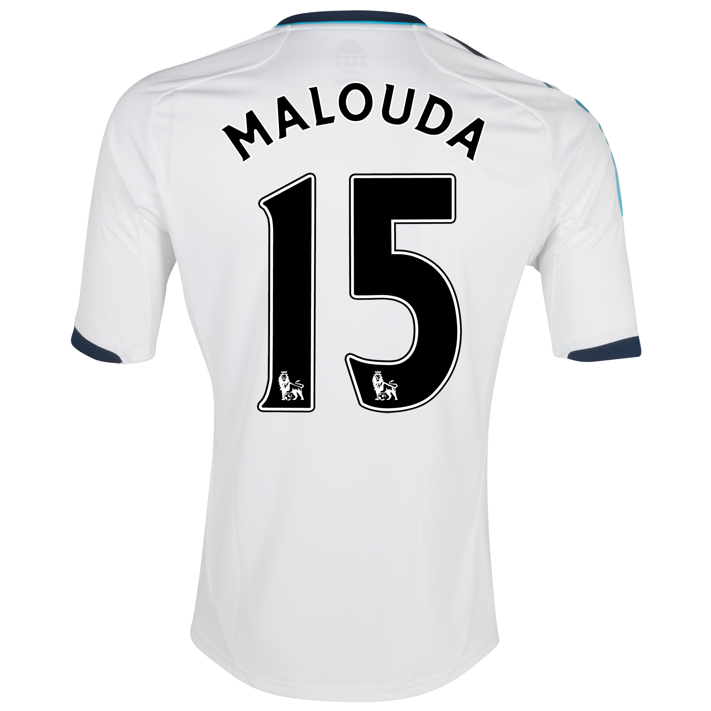 Chelsea Away Shirt 2012/13 - Kids with Malouda 15 printing
