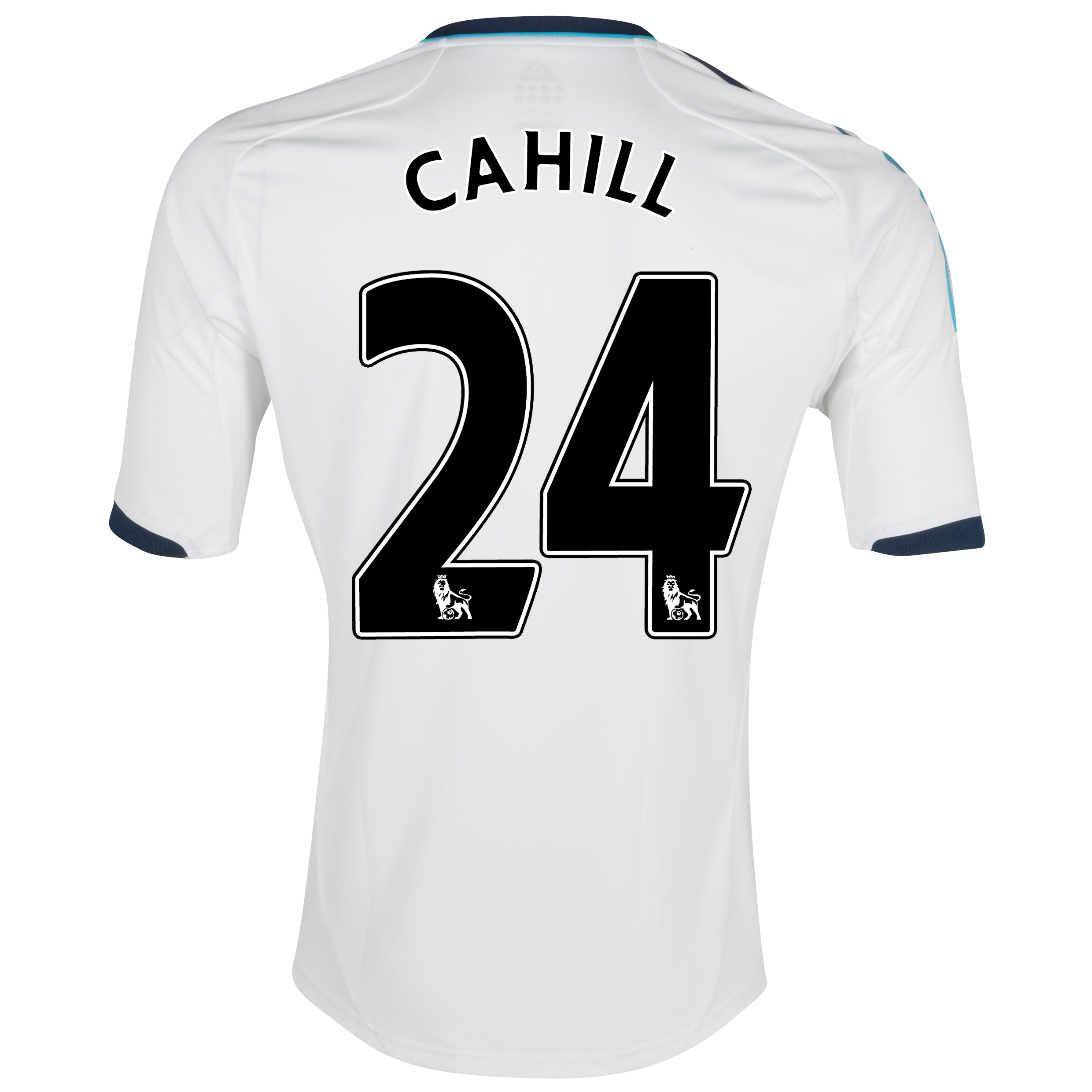 Chelsea Away Shirt 2012/13 - Kids with Cahill 24 printing