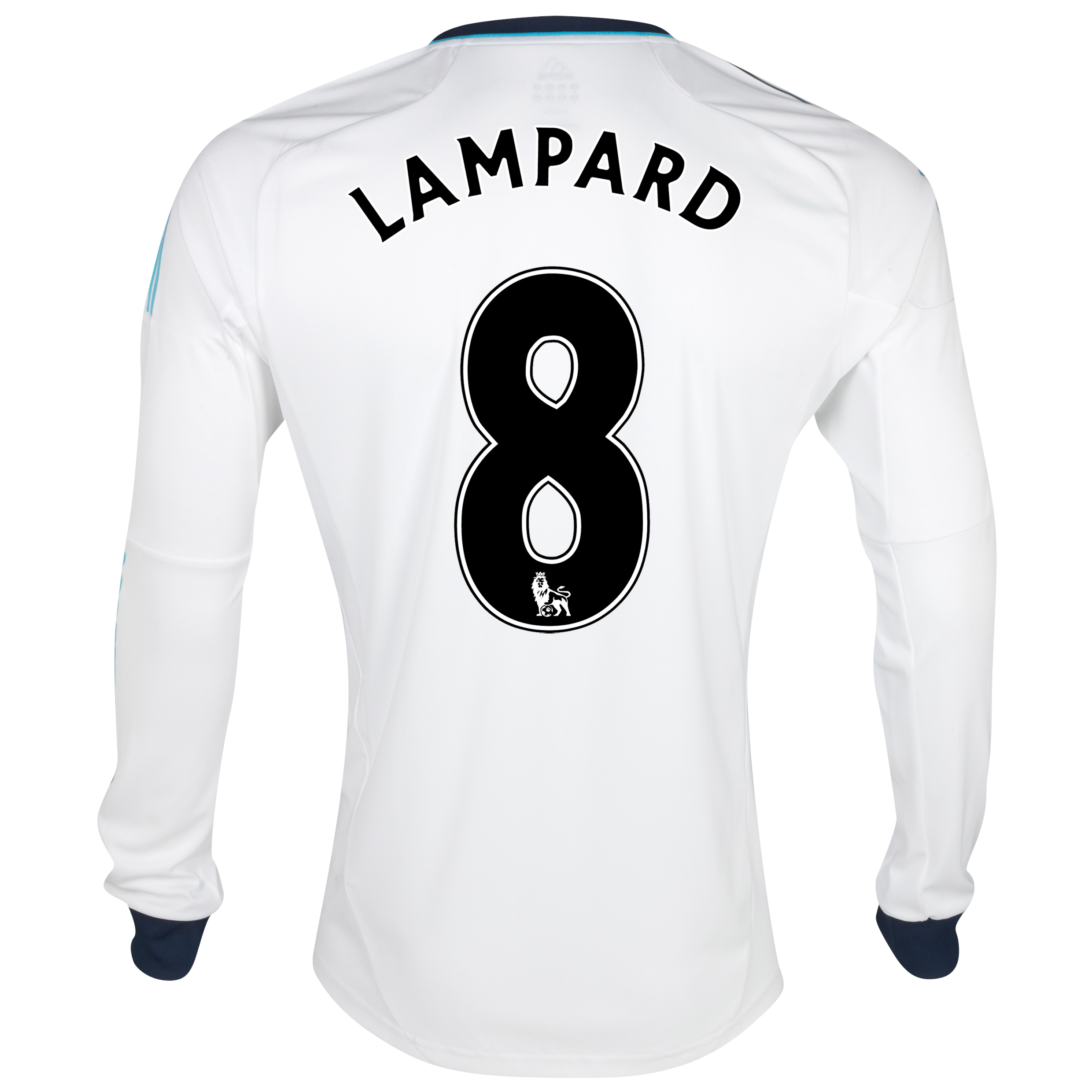 Chelsea Away Shirt 2012/13 - Long Sleeved - Kids with Lampard 8 printing