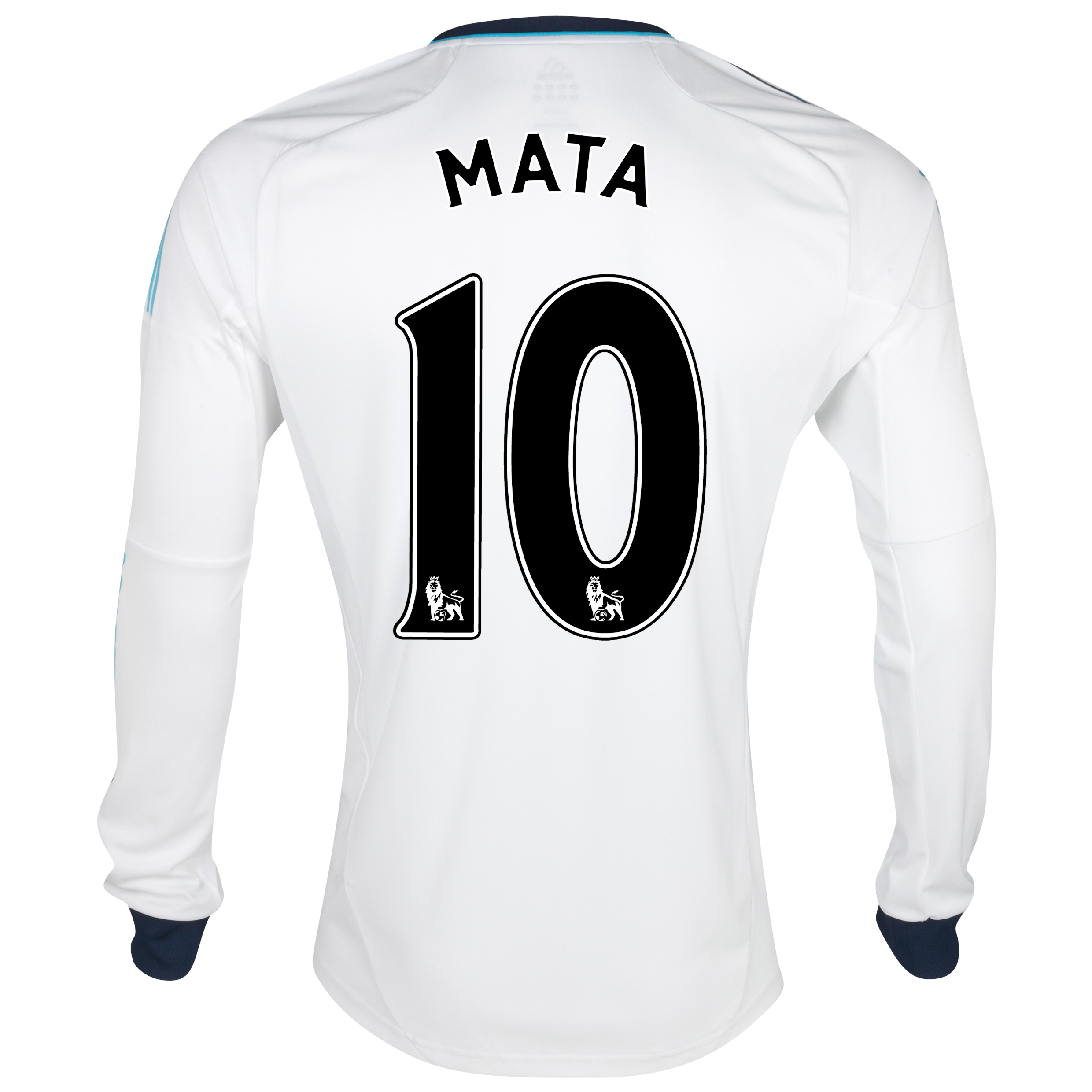 Chelsea Away Shirt 2012/13 - Long Sleeved - Kids with Mata 10 printing