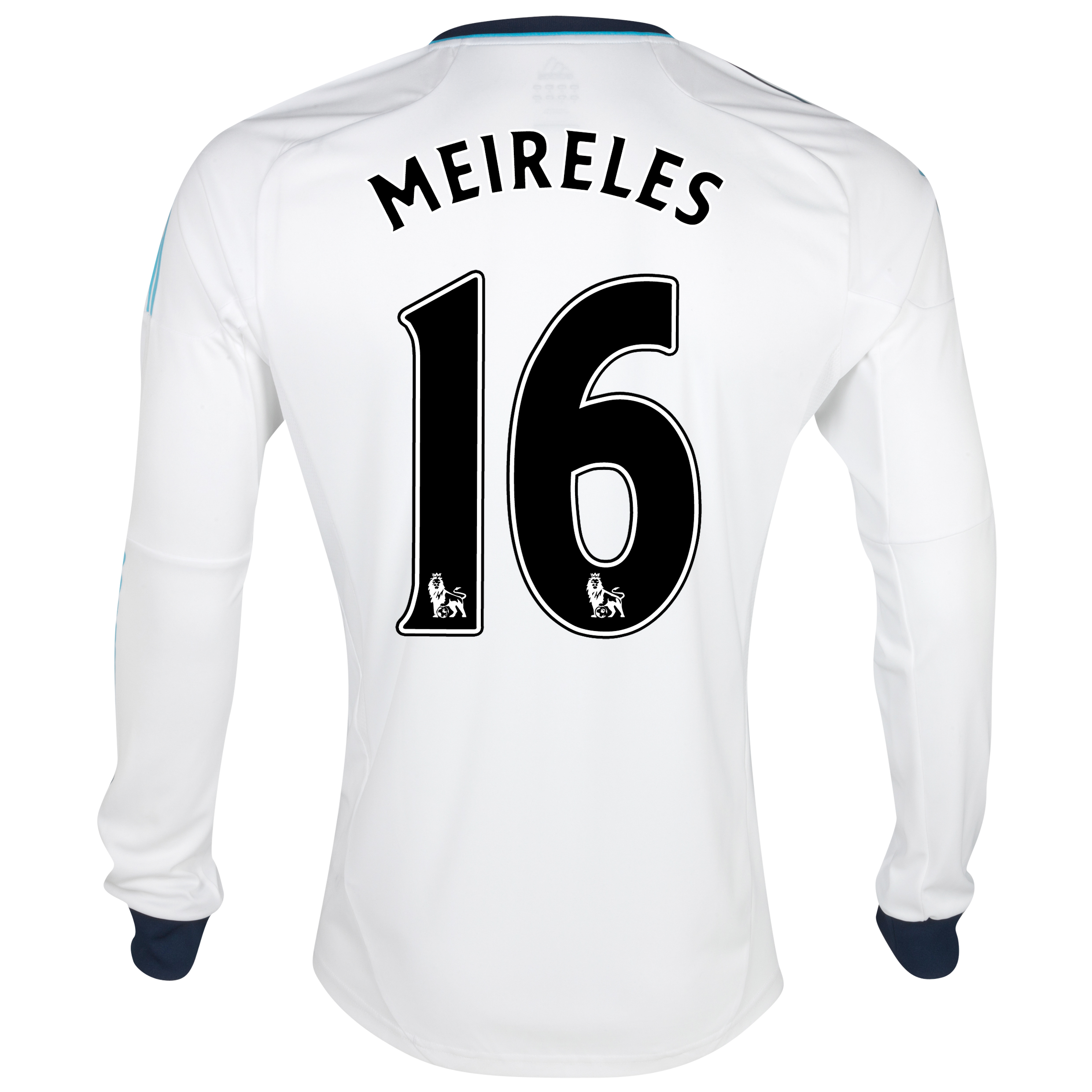 Chelsea Away Shirt 2012/13 - Long Sleeved - Kids with Meireles 16 printing