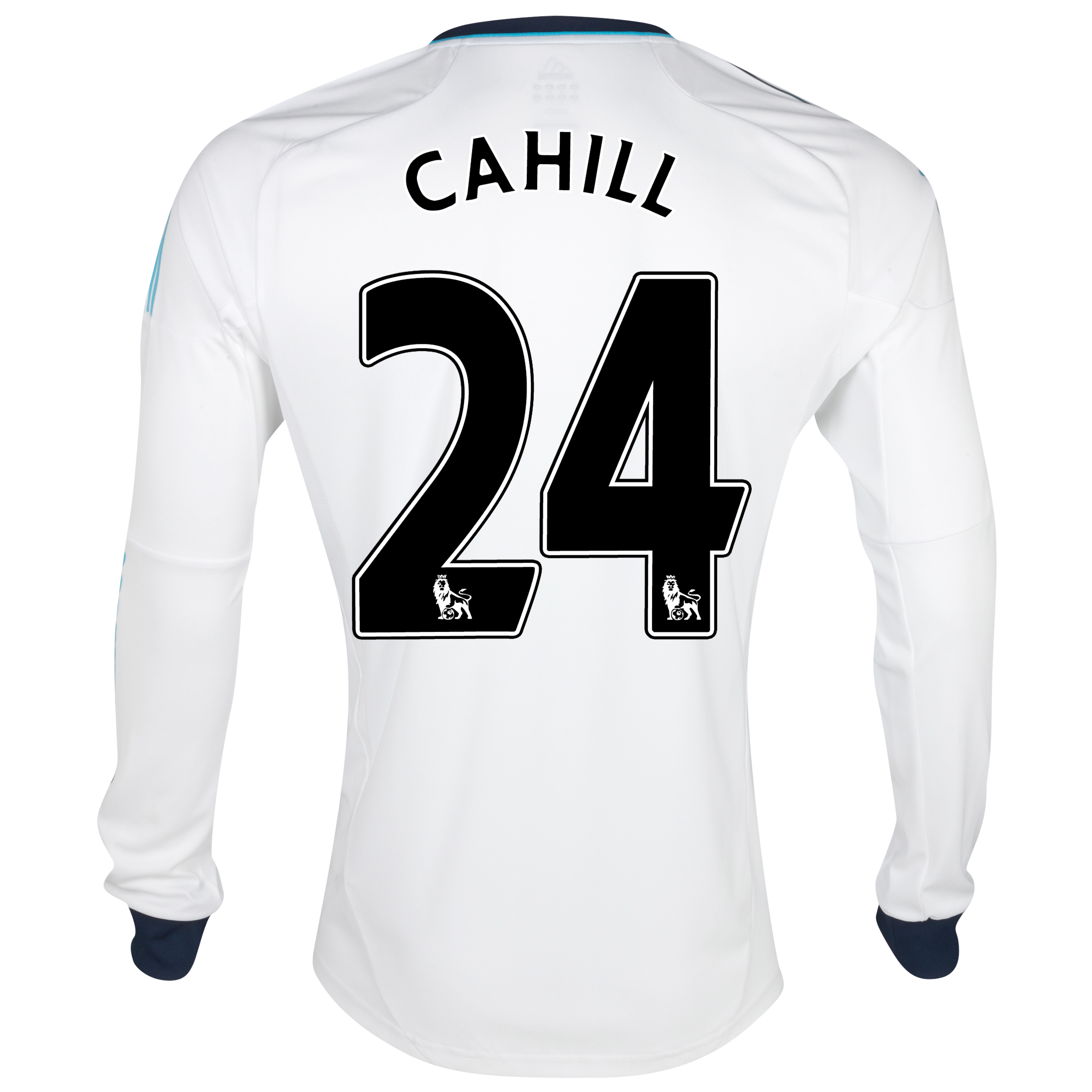 Chelsea Away Shirt 2012/13 - Long Sleeved - Kids with Cahill 24 printing