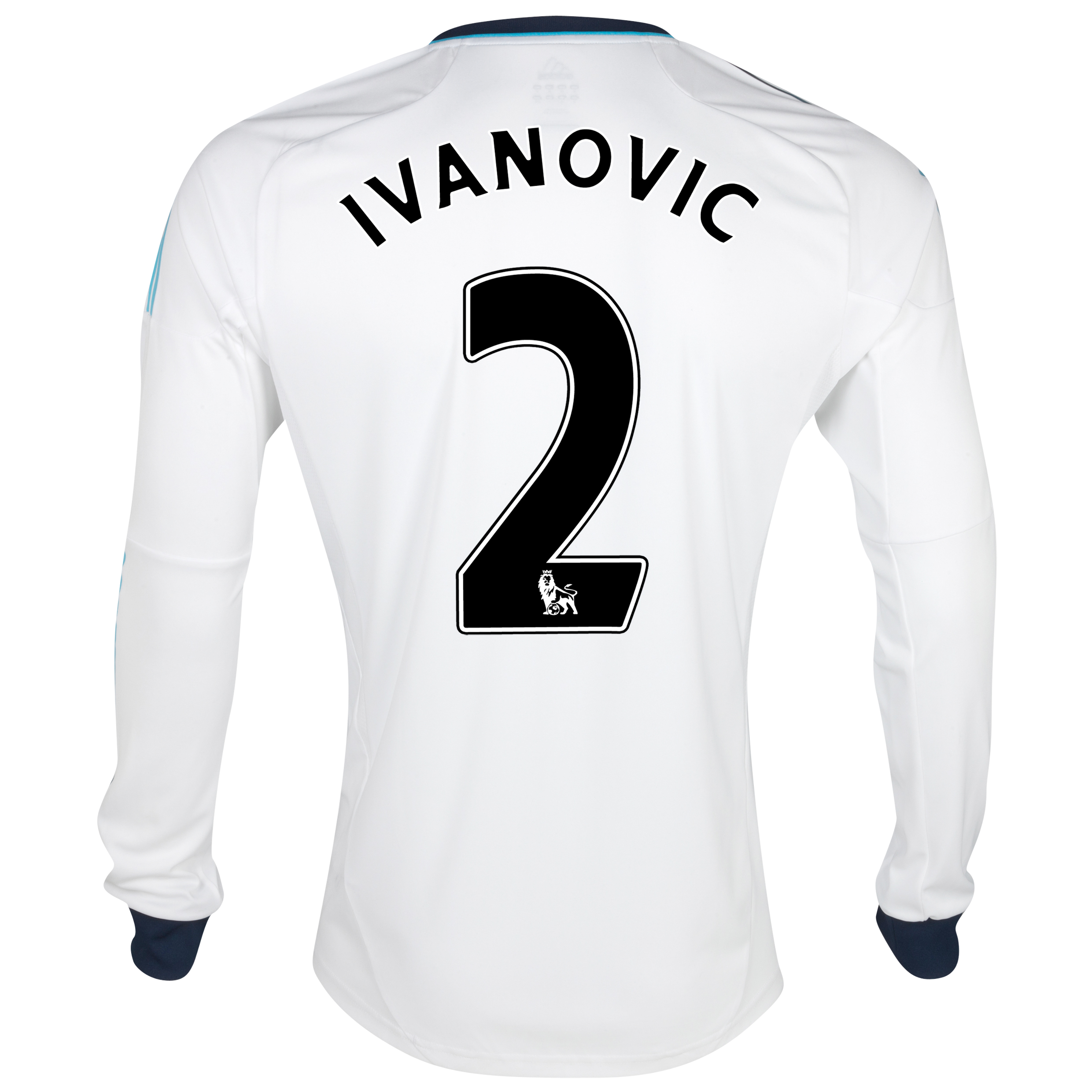 Chelsea Away Shirt 2012/13 - Long Sleeved  - Youths with Ivanovic 2 printing