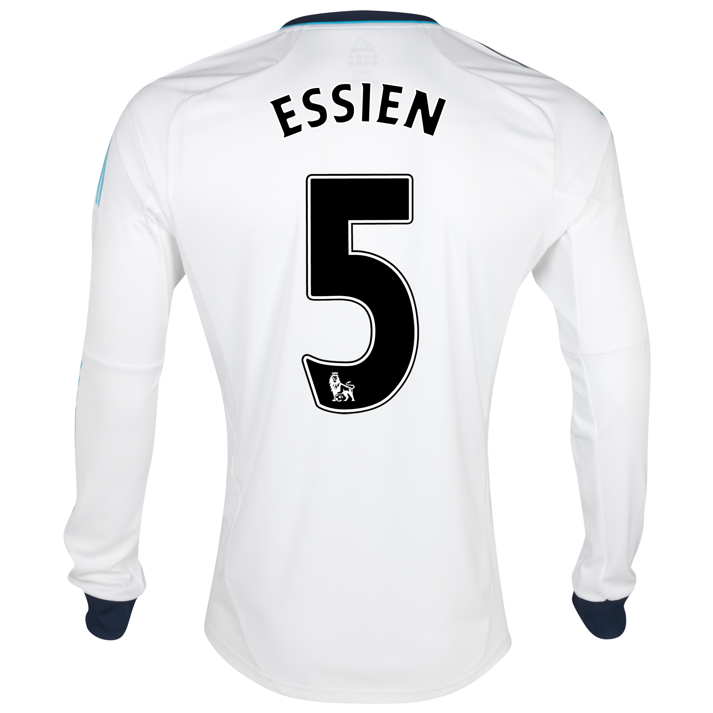Chelsea Away Shirt 2012/13 - Long Sleeved  - Youths with Essien 5 printing
