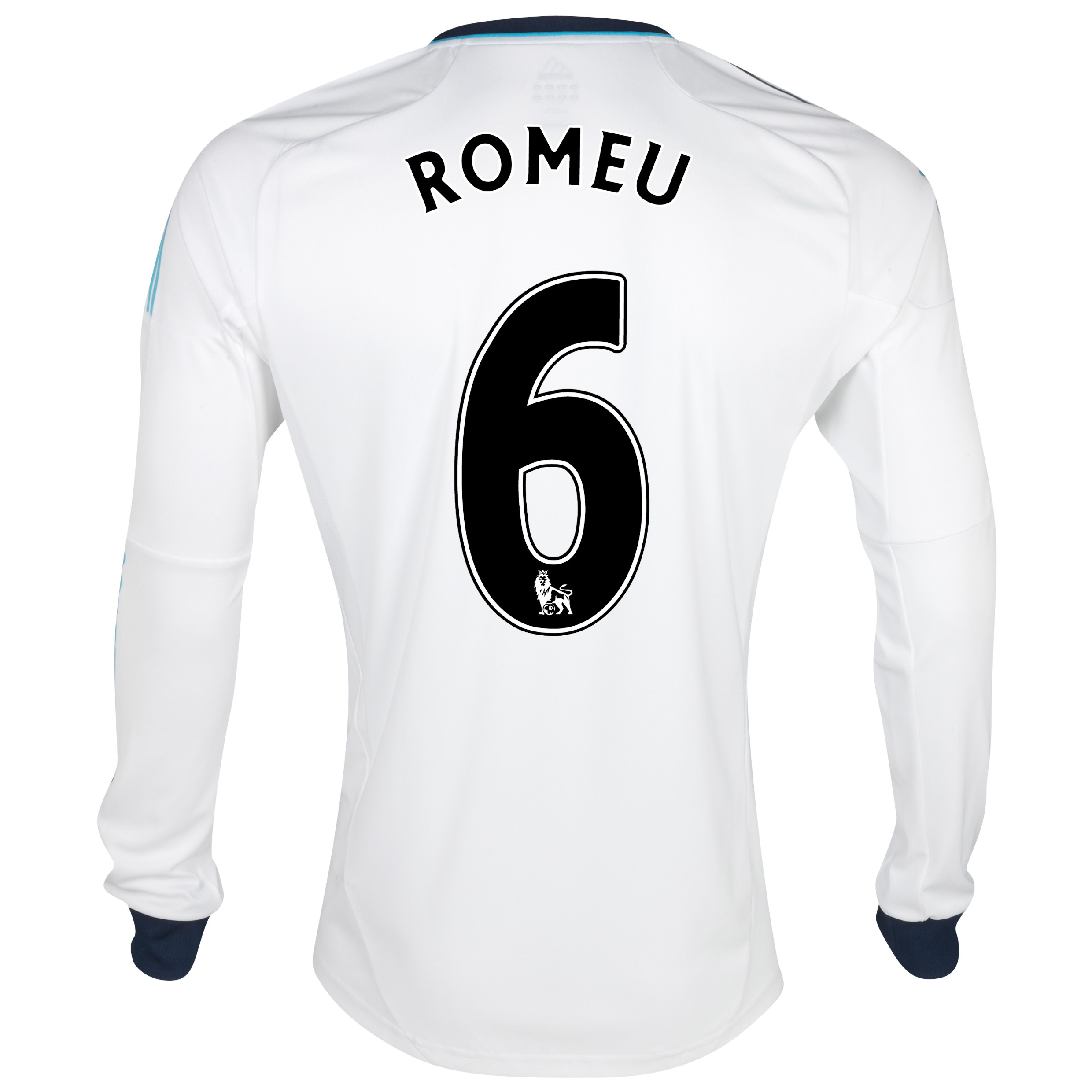 Chelsea Away Shirt 2012/13 - Long Sleeved  - Youths with Romeu 6 printing