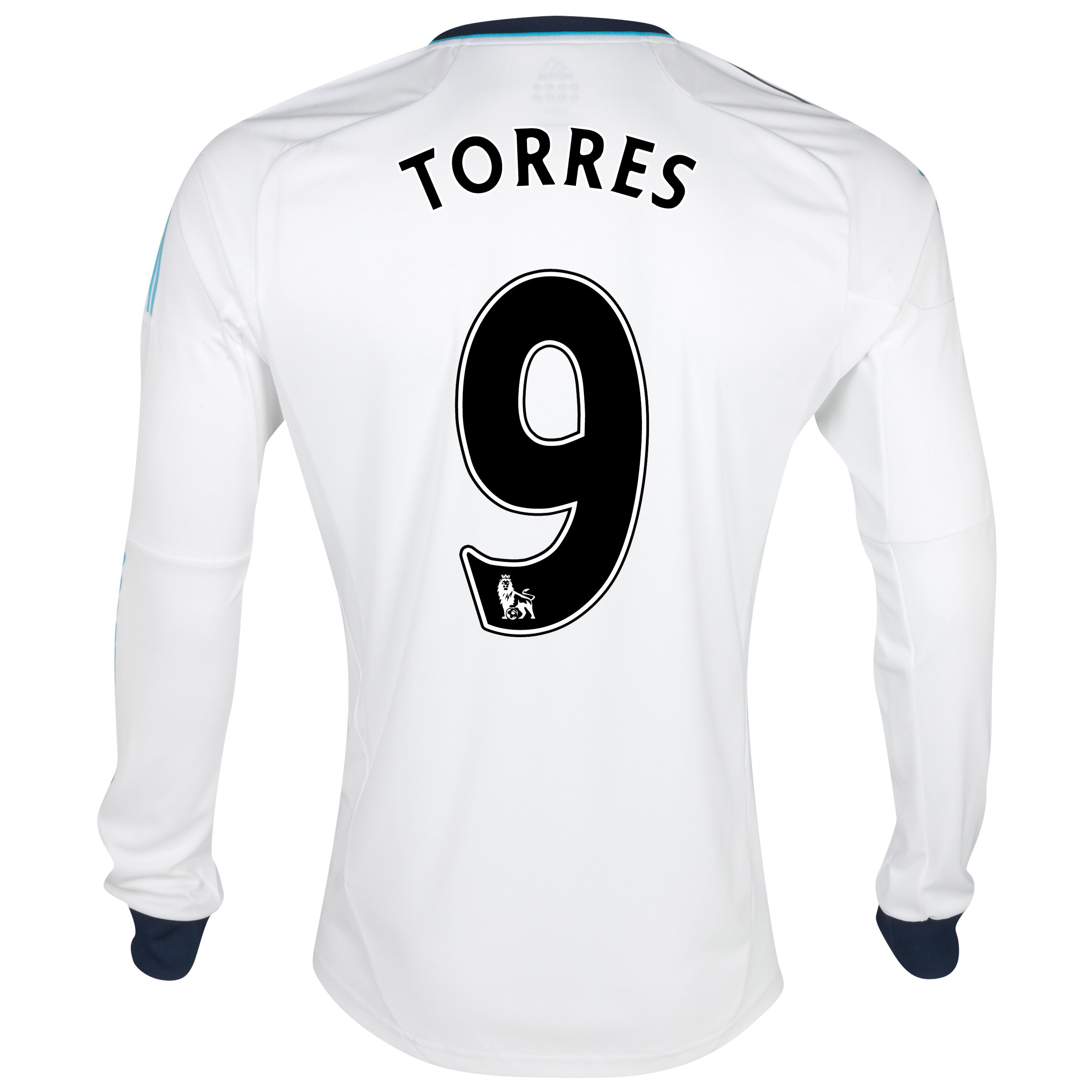 Chelsea Away Shirt 2012/13 - Long Sleeved  - Youths with Torres 9 printing