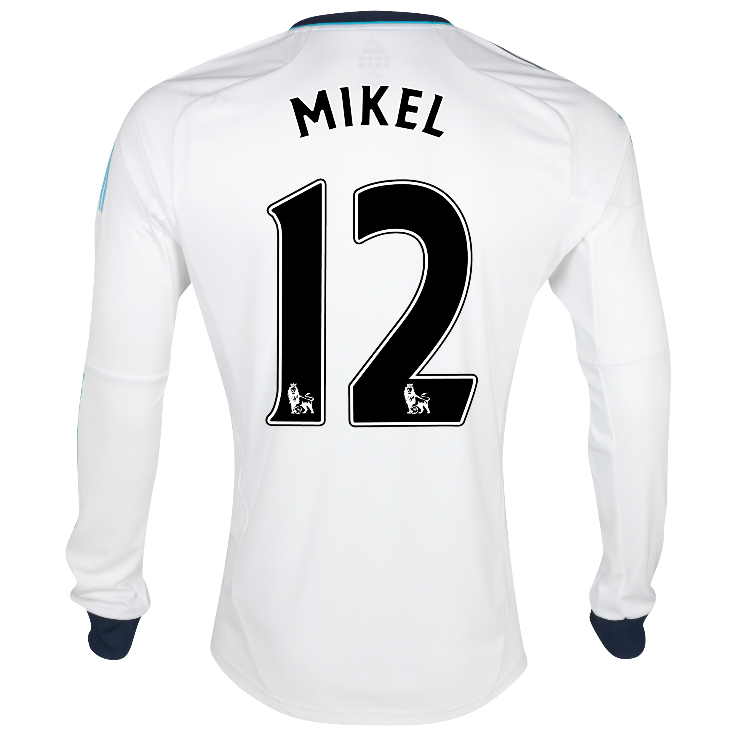 Chelsea Away Shirt 2012/13 - Long Sleeved  - Youths with Mikel 12 printing