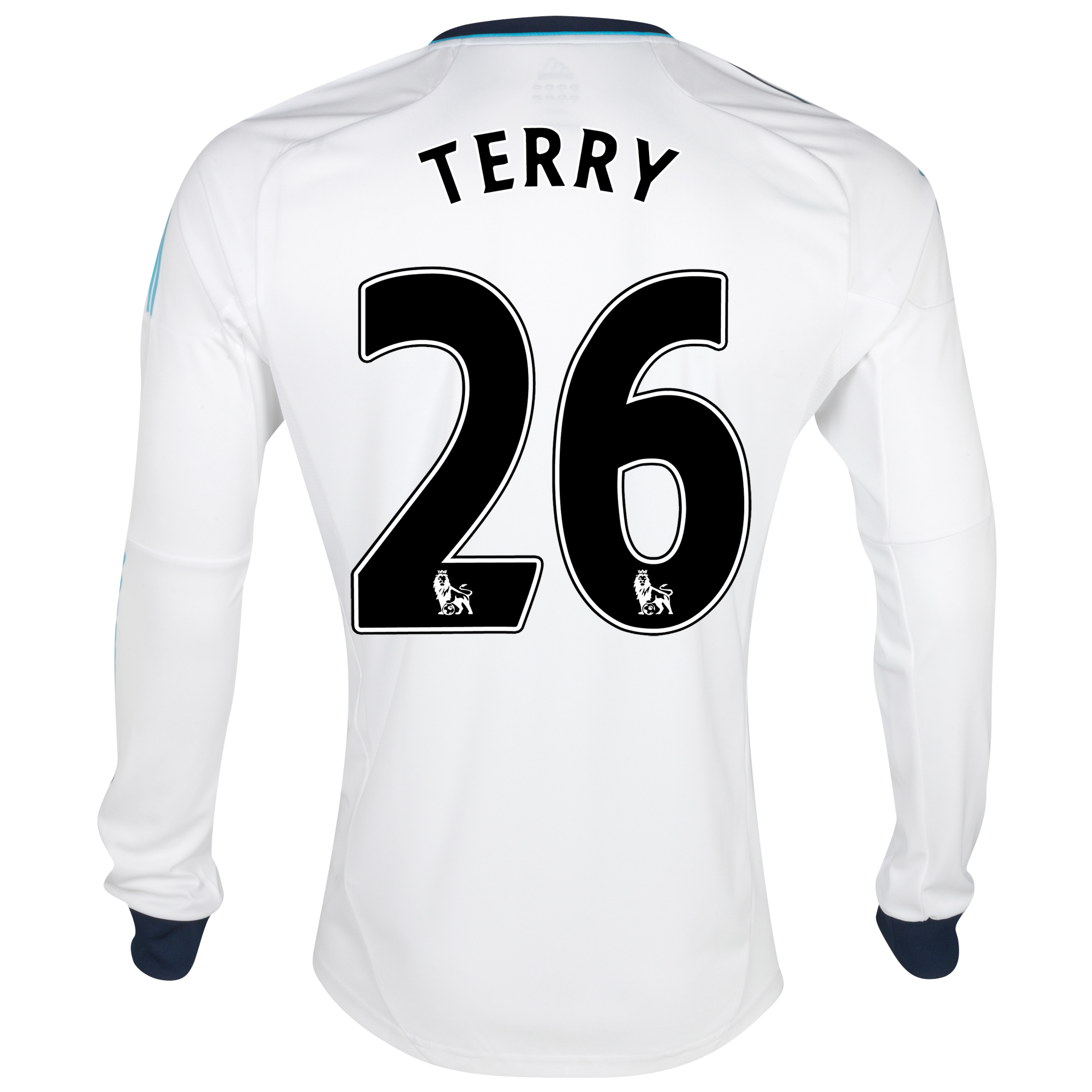 Chelsea Away Shirt 2012/13 - Long Sleeved  - Youths with Terry 26 printing