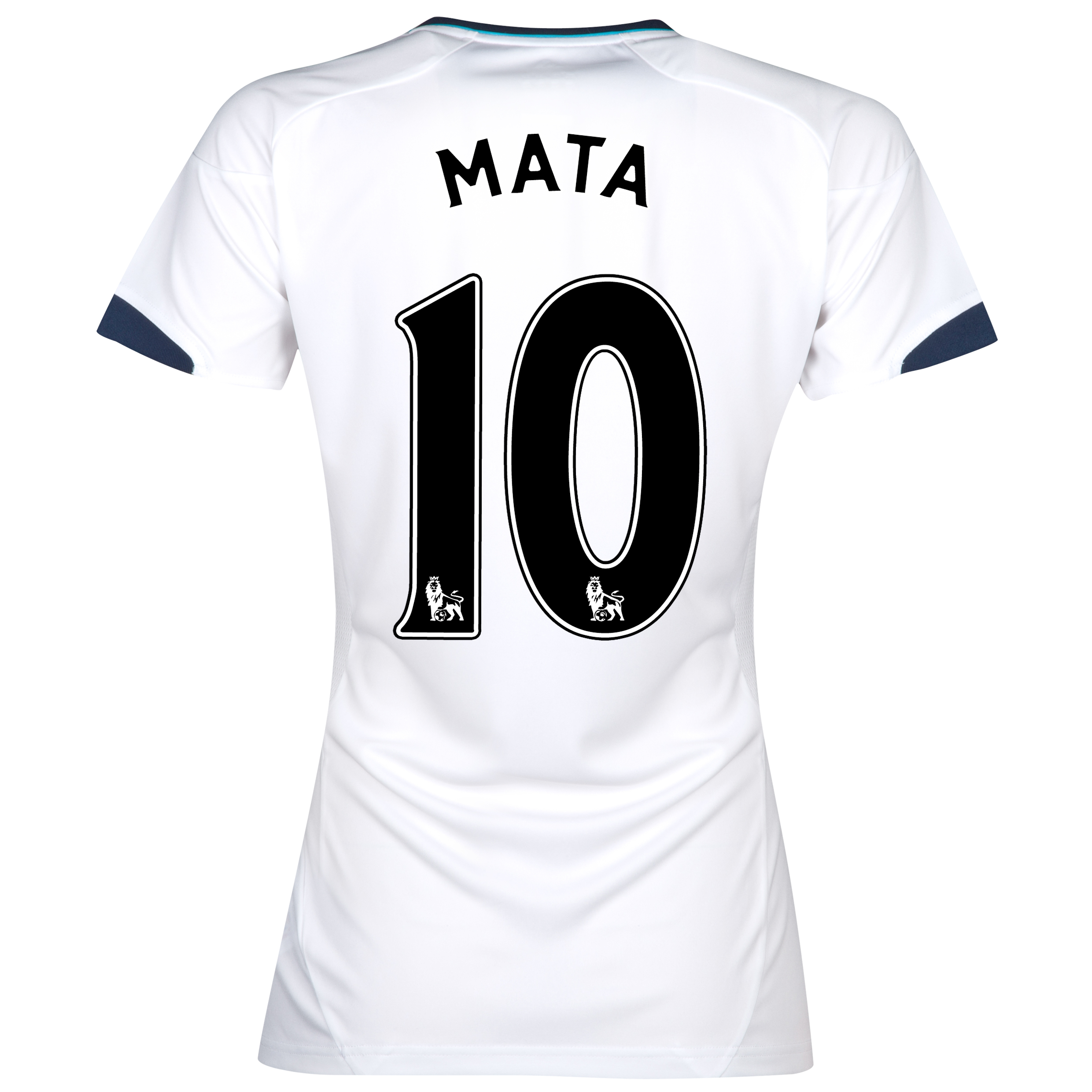 Chelsea Away Shirt 2012/13 - Womens with Mata 10 printing