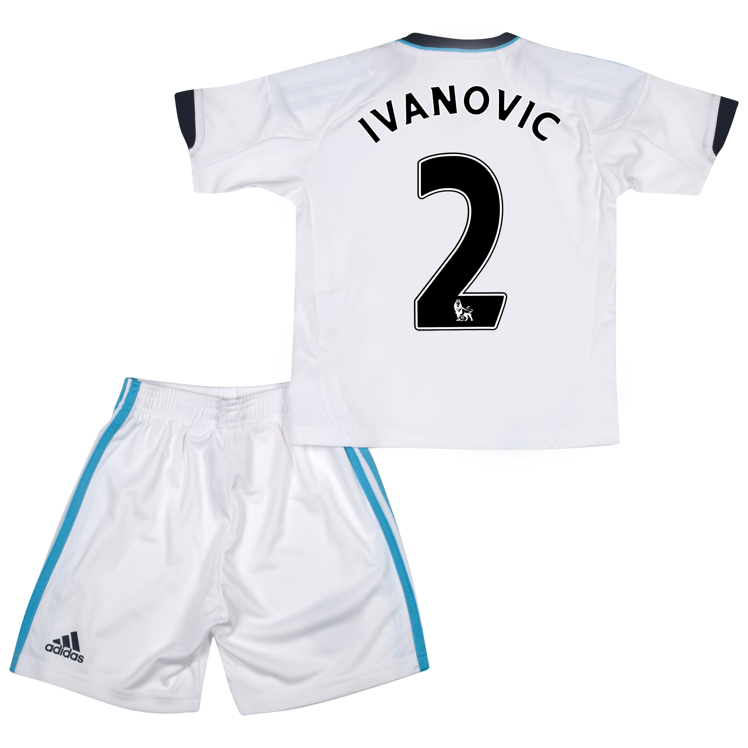 Chelsea Away Mini Kit 2012/13 with Ivanovic 2 printing