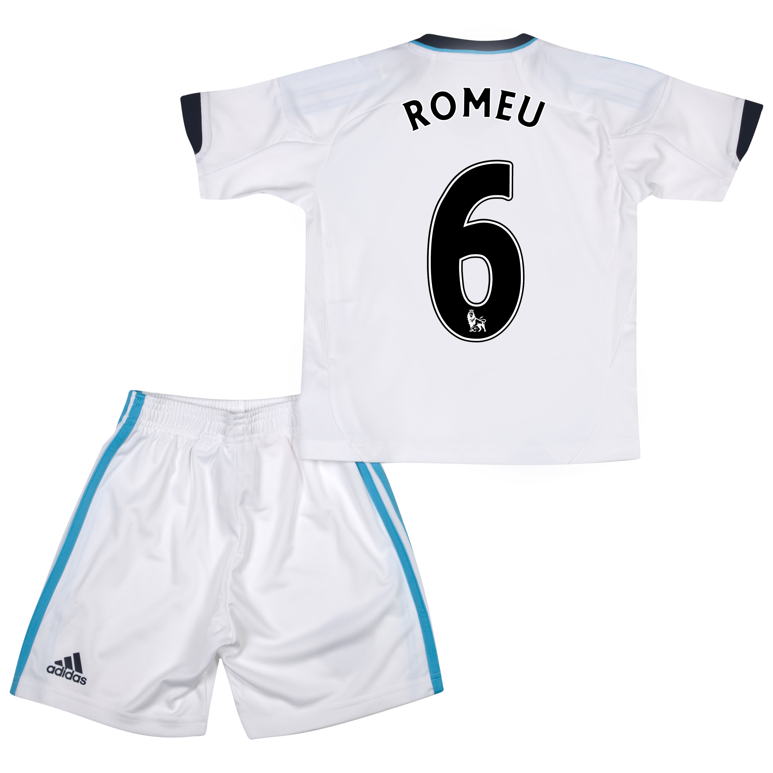 Chelsea Away Mini Kit 2012/13 with Romeu 6 printing
