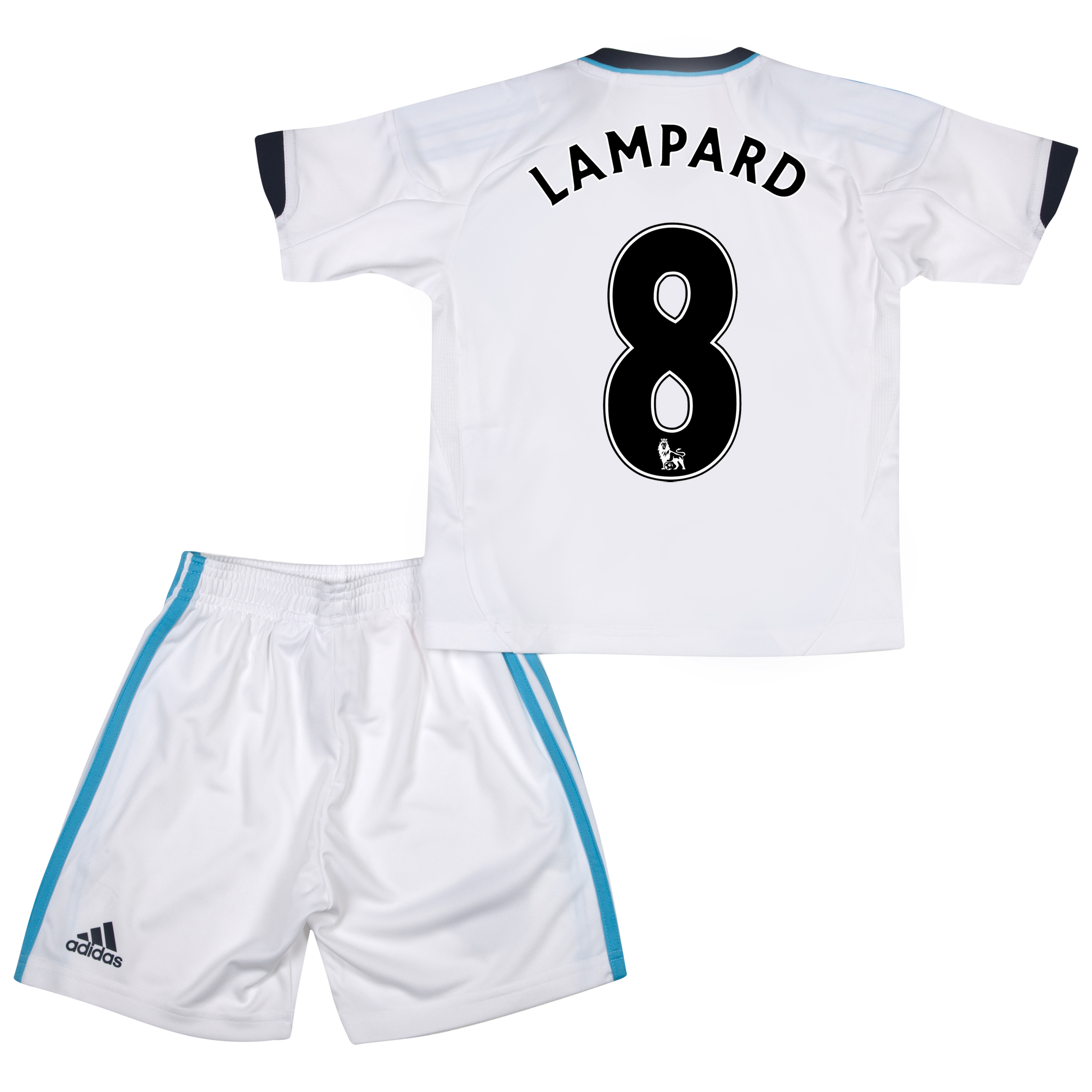 Chelsea Away Mini Kit 2012/13 with Lampard 8 printing
