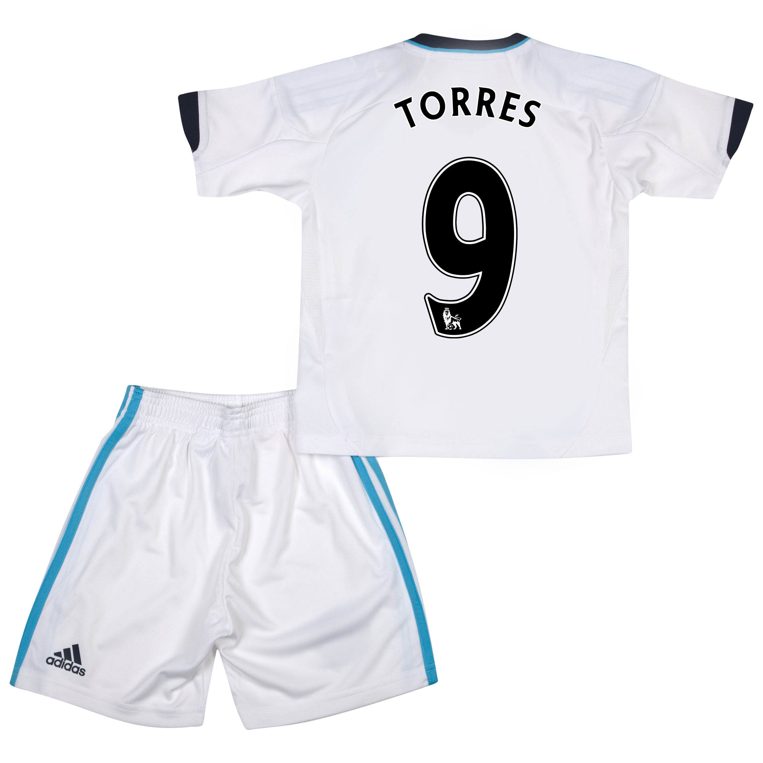 Chelsea Away Mini Kit 2012/13 with Torres 9 printing