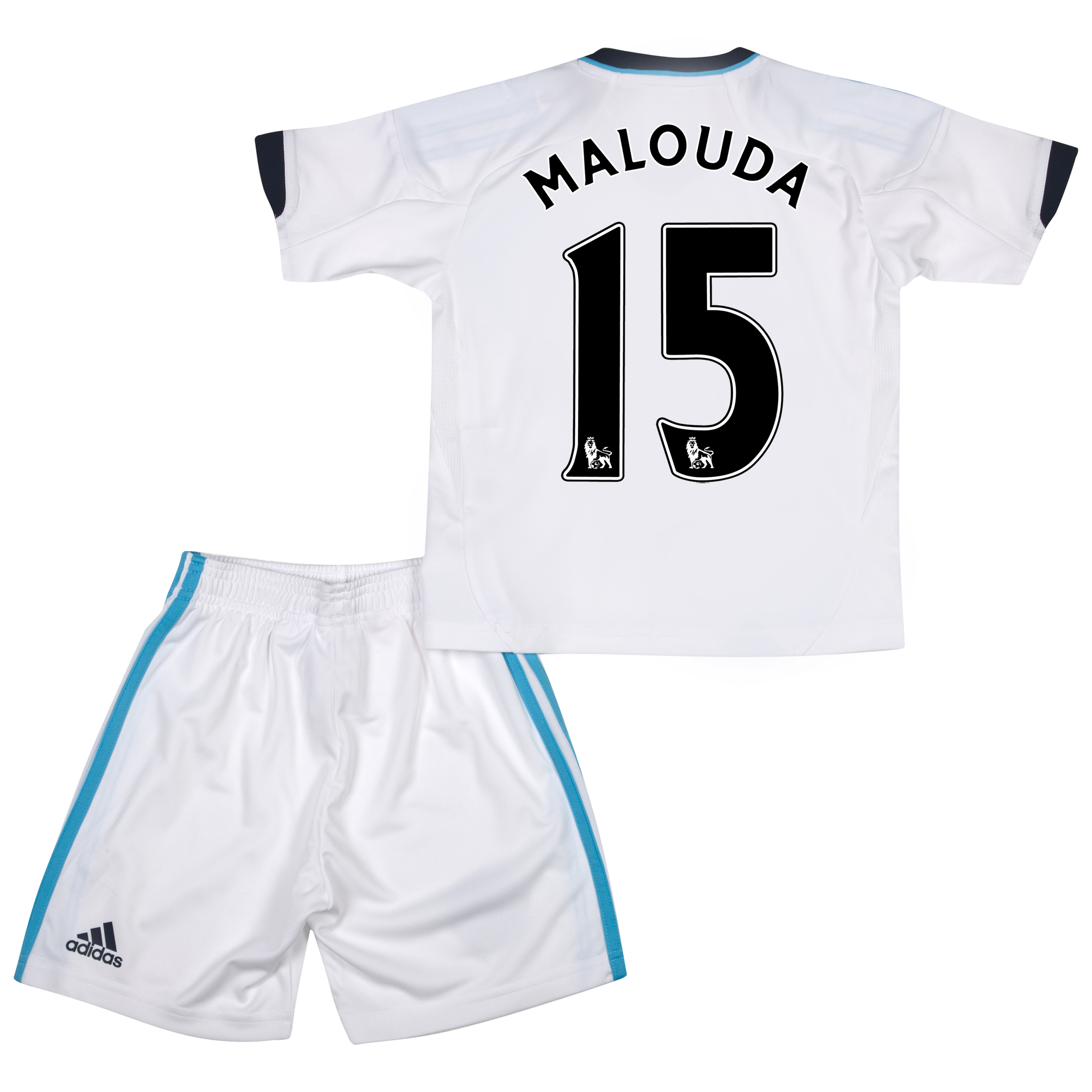 Chelsea Away Mini Kit 2012/13 with Malouda 15 printing