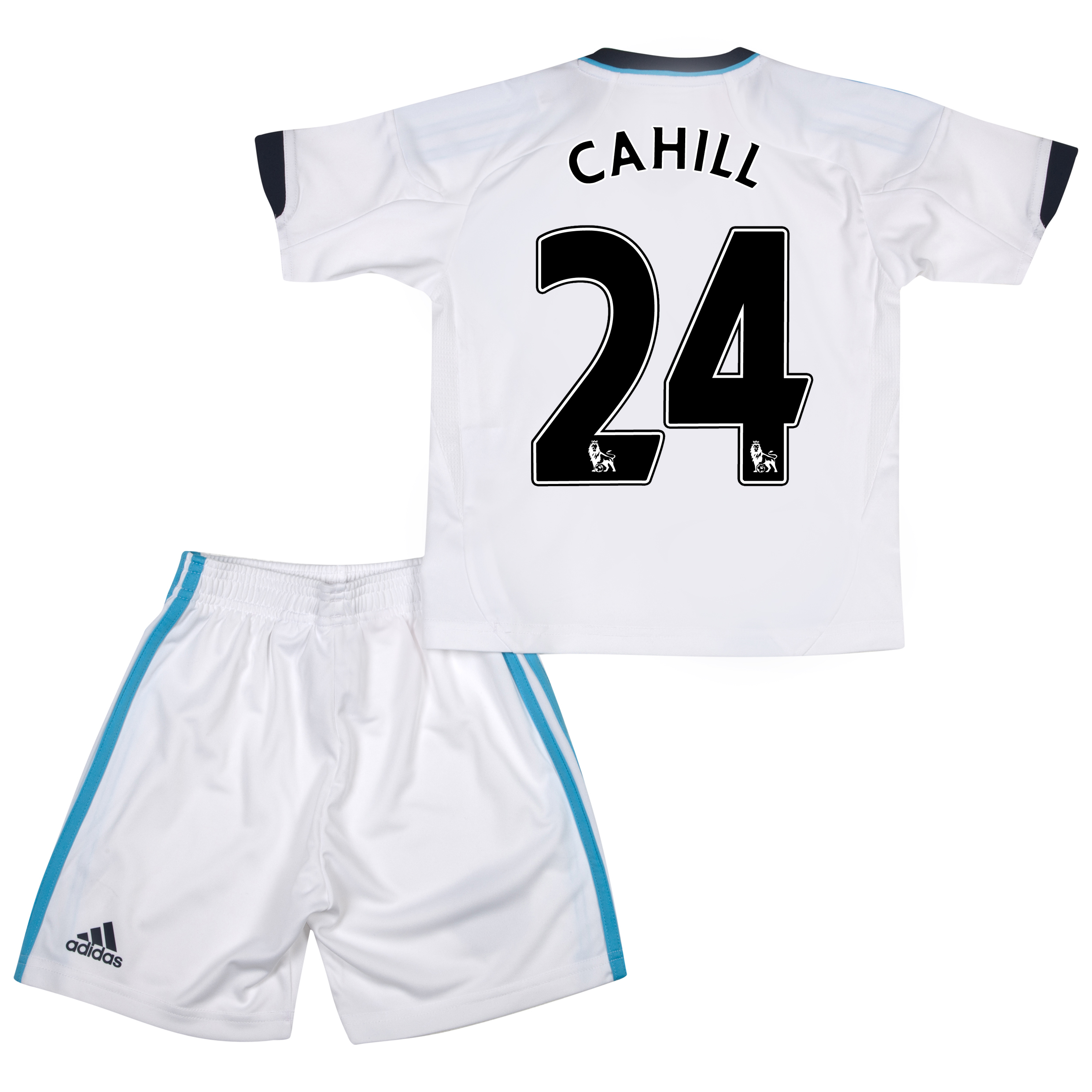 Chelsea Away Mini Kit 2012/13 with Cahill 24 printing