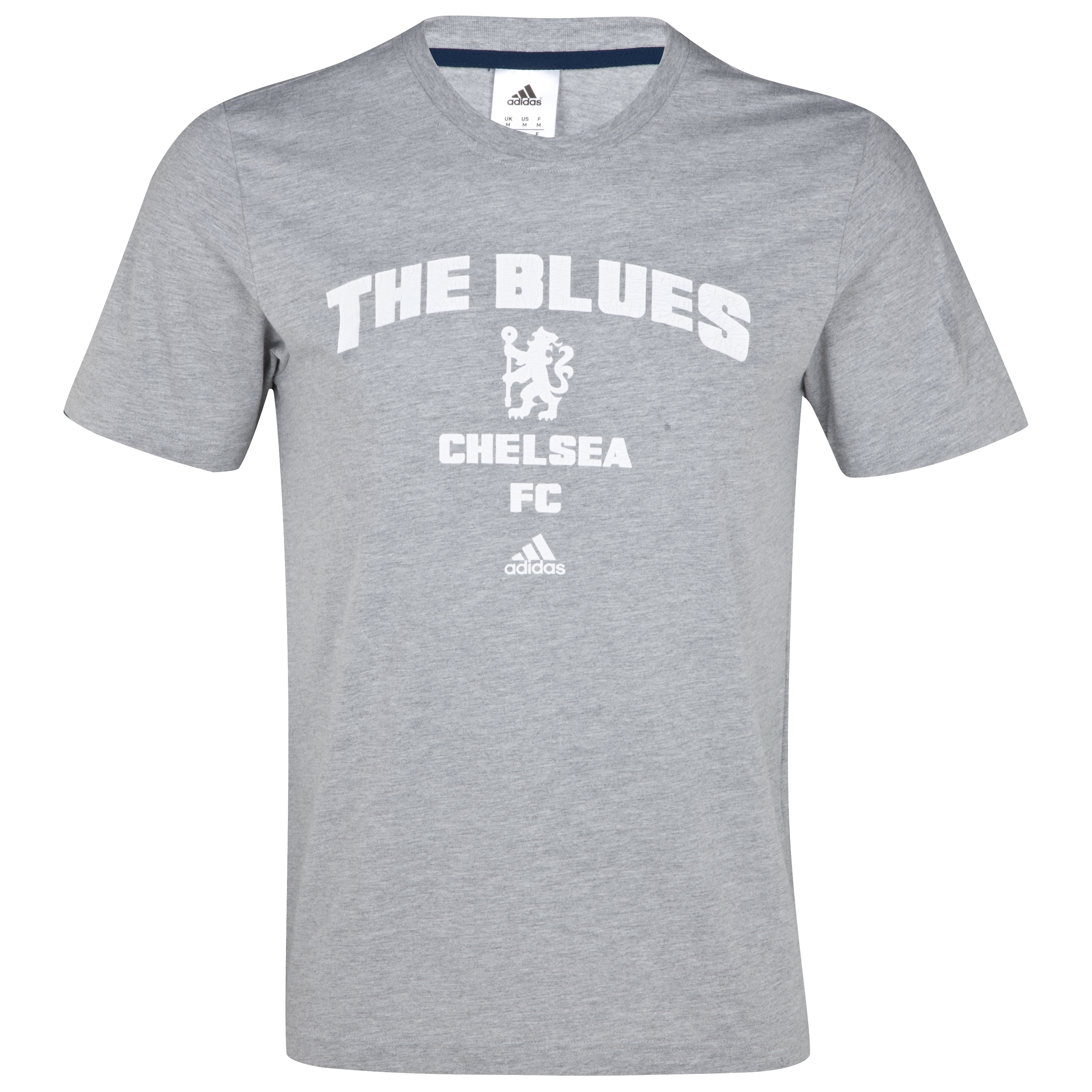 Chelsea Graphic T-Shirt - Medium Grey Heather/White