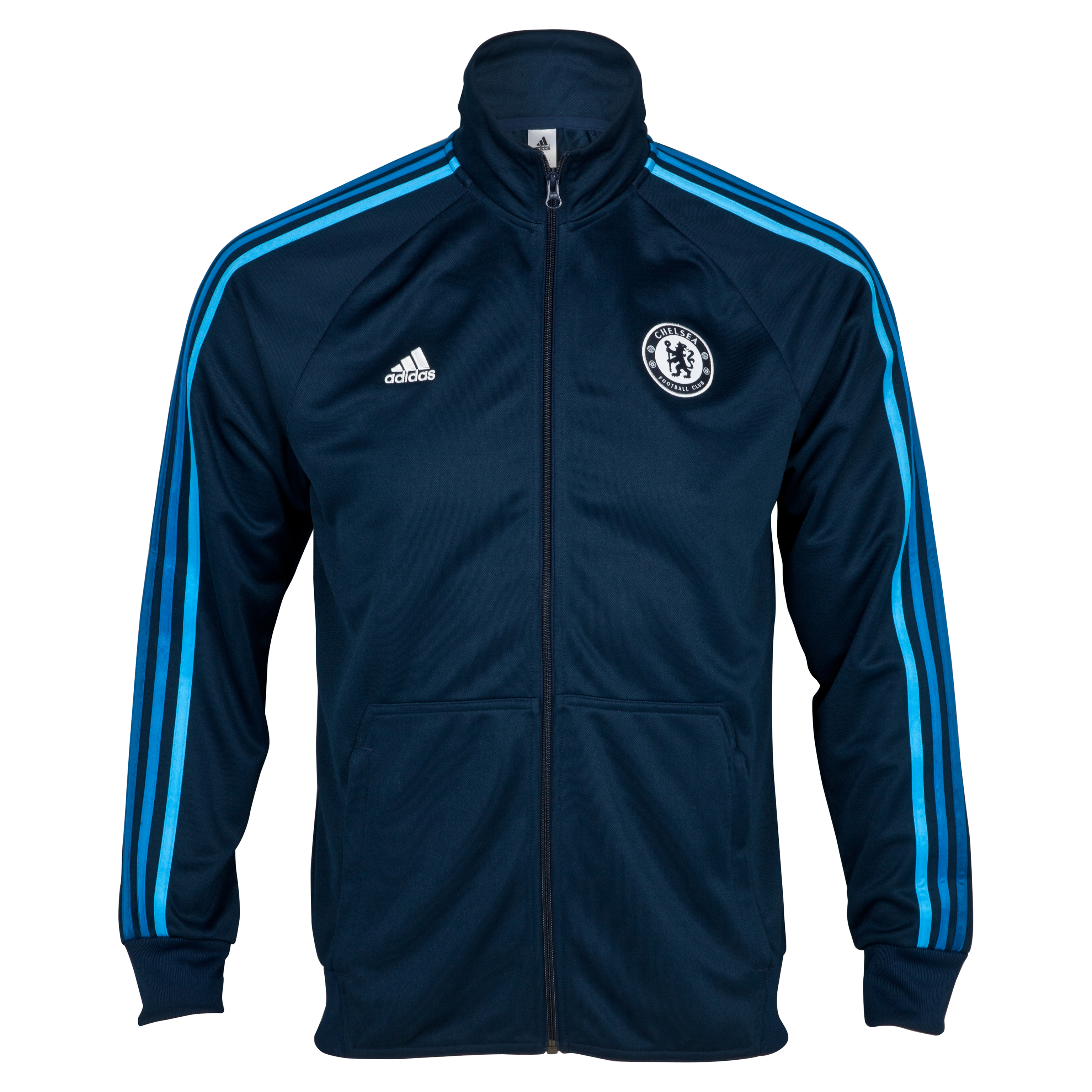 Chelsea Core Track Top - Collegiate Navy/Cyan S09
