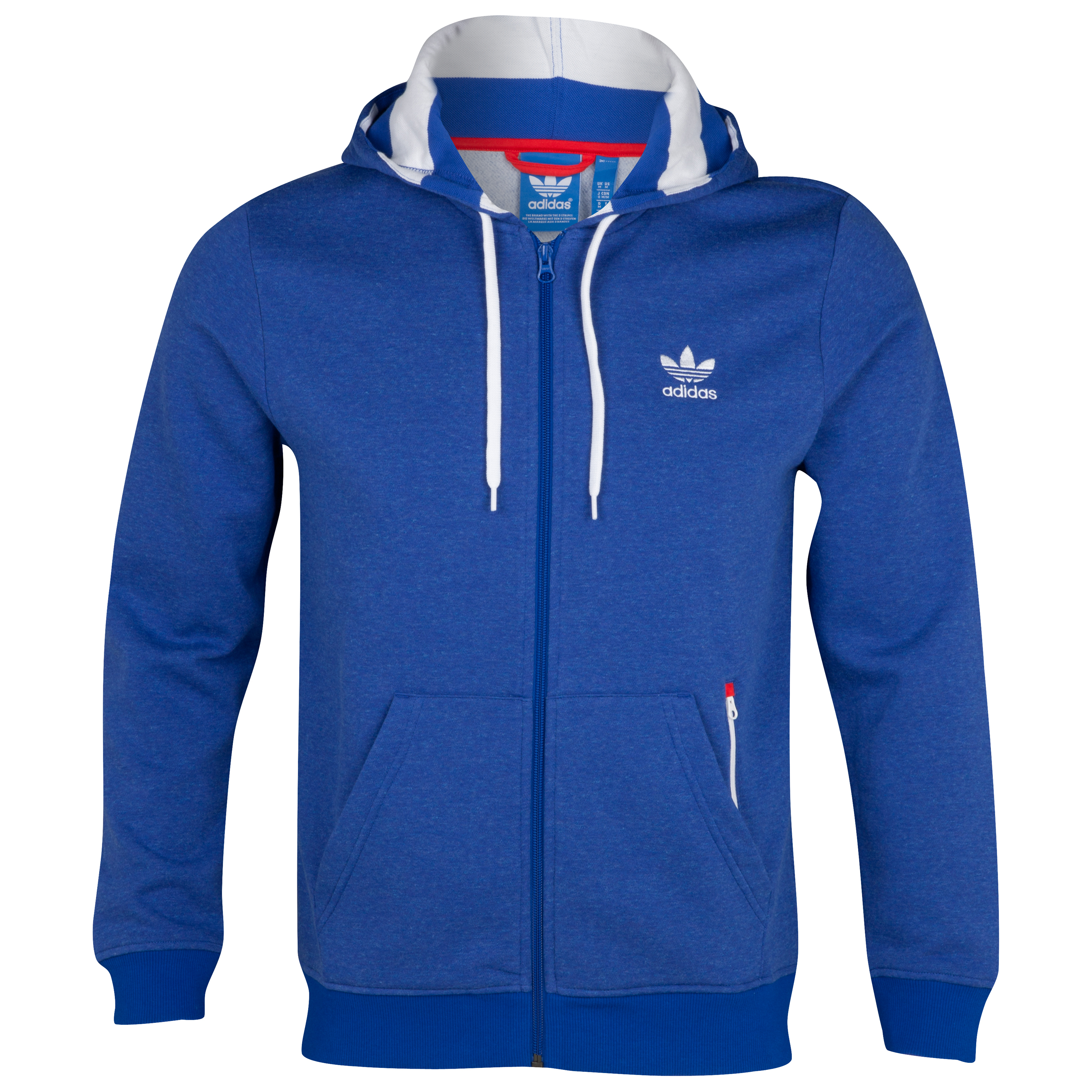 adidas Originals Chelsea Full Zip Hoodie - True Blue