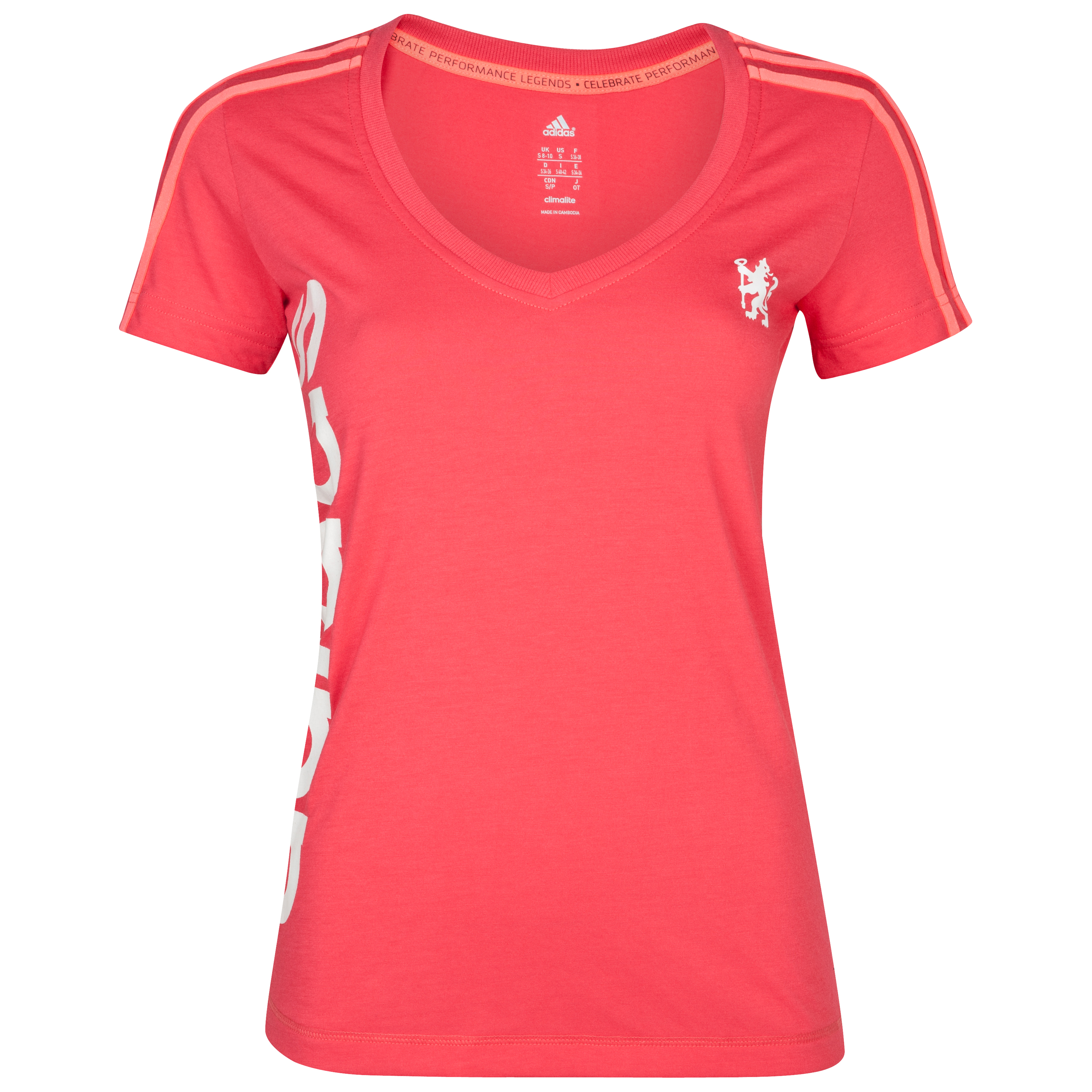 adidas Chelsea Reload Core T-Shirt - Womens - Joy