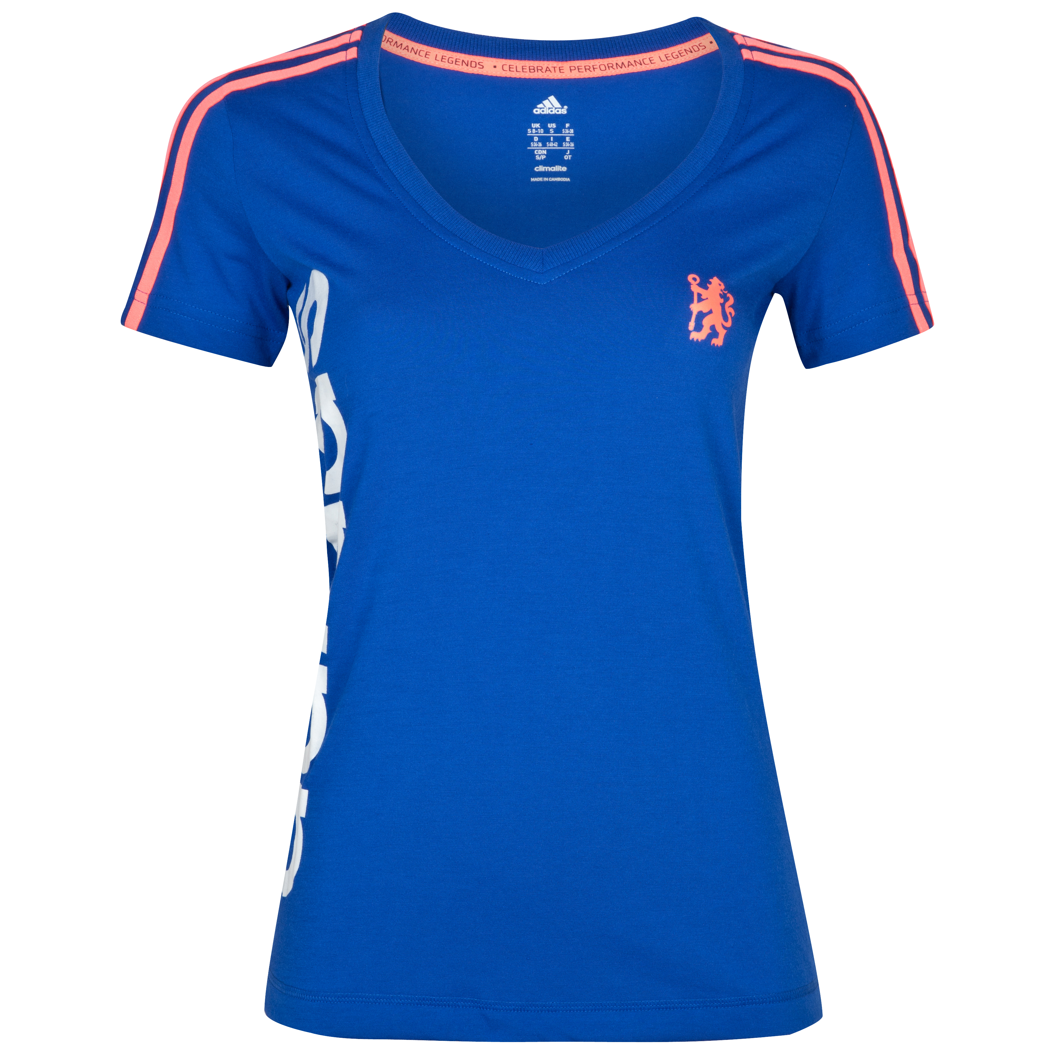 adidas Chelsea Reload Core T-Shirt - Womens - Cobalt