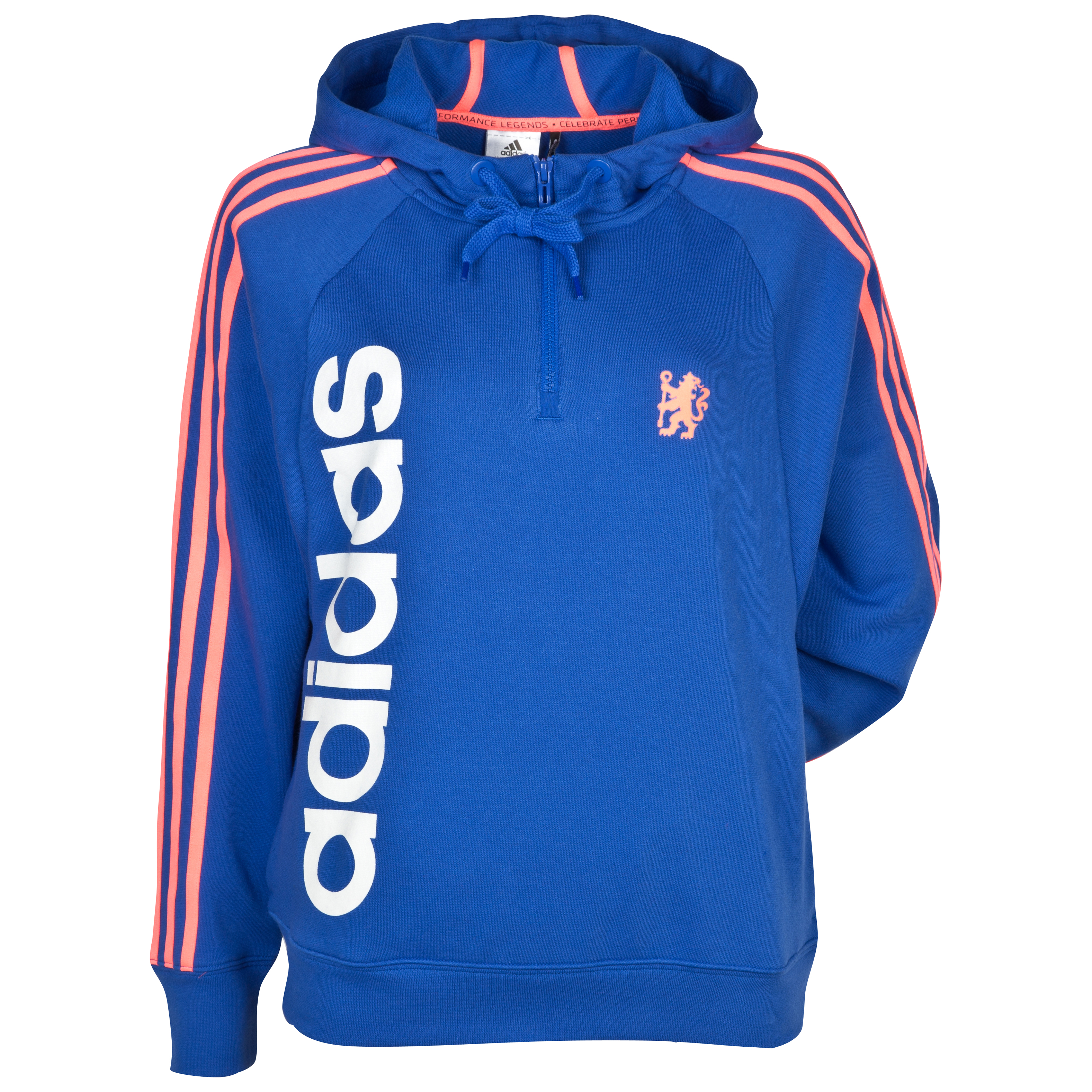 adidas Chelsea Reload Core Hoodie - Womens - Cobalt