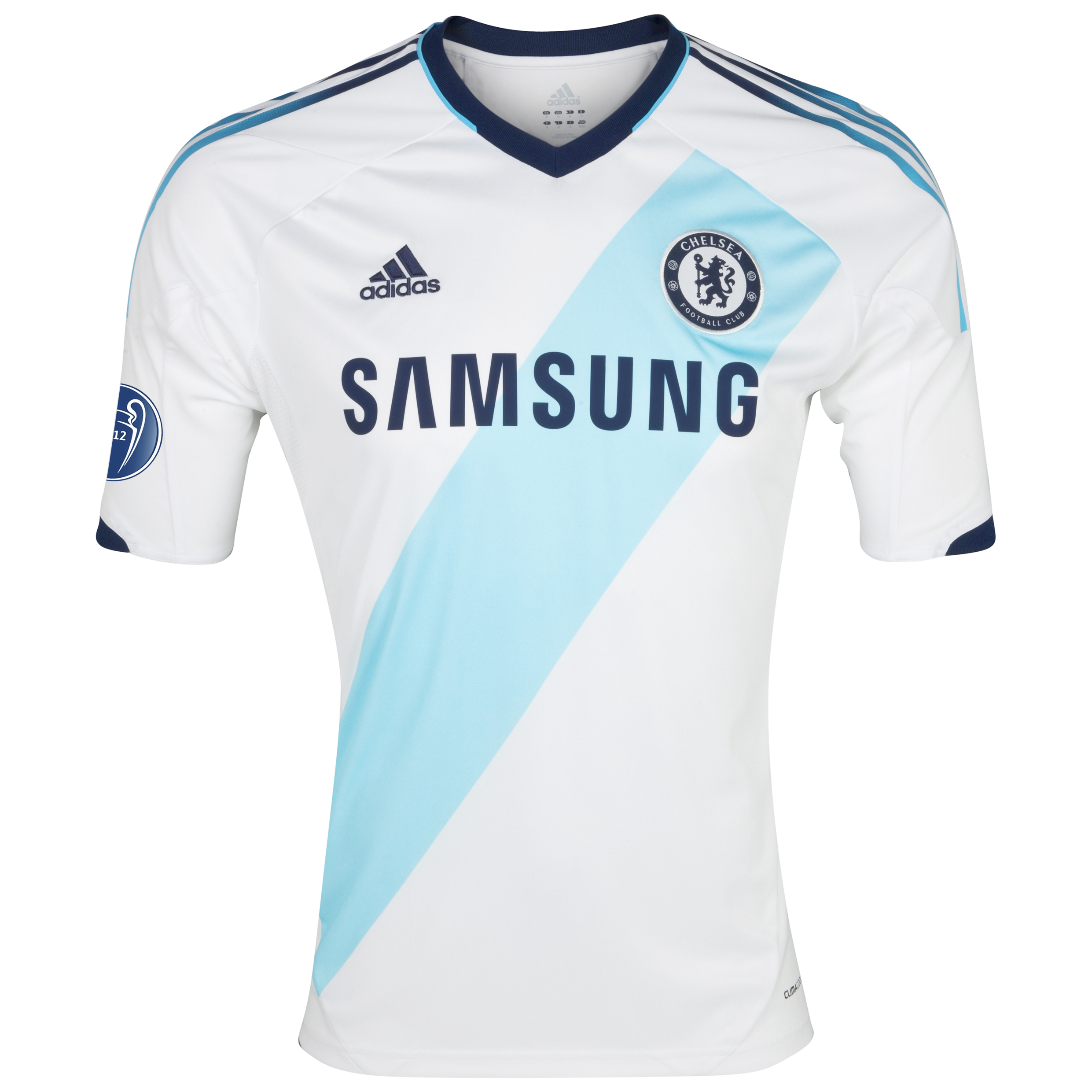 Chelsea UEFA Champions League Away Shirt 2012/13 - Kids with Winners Badge