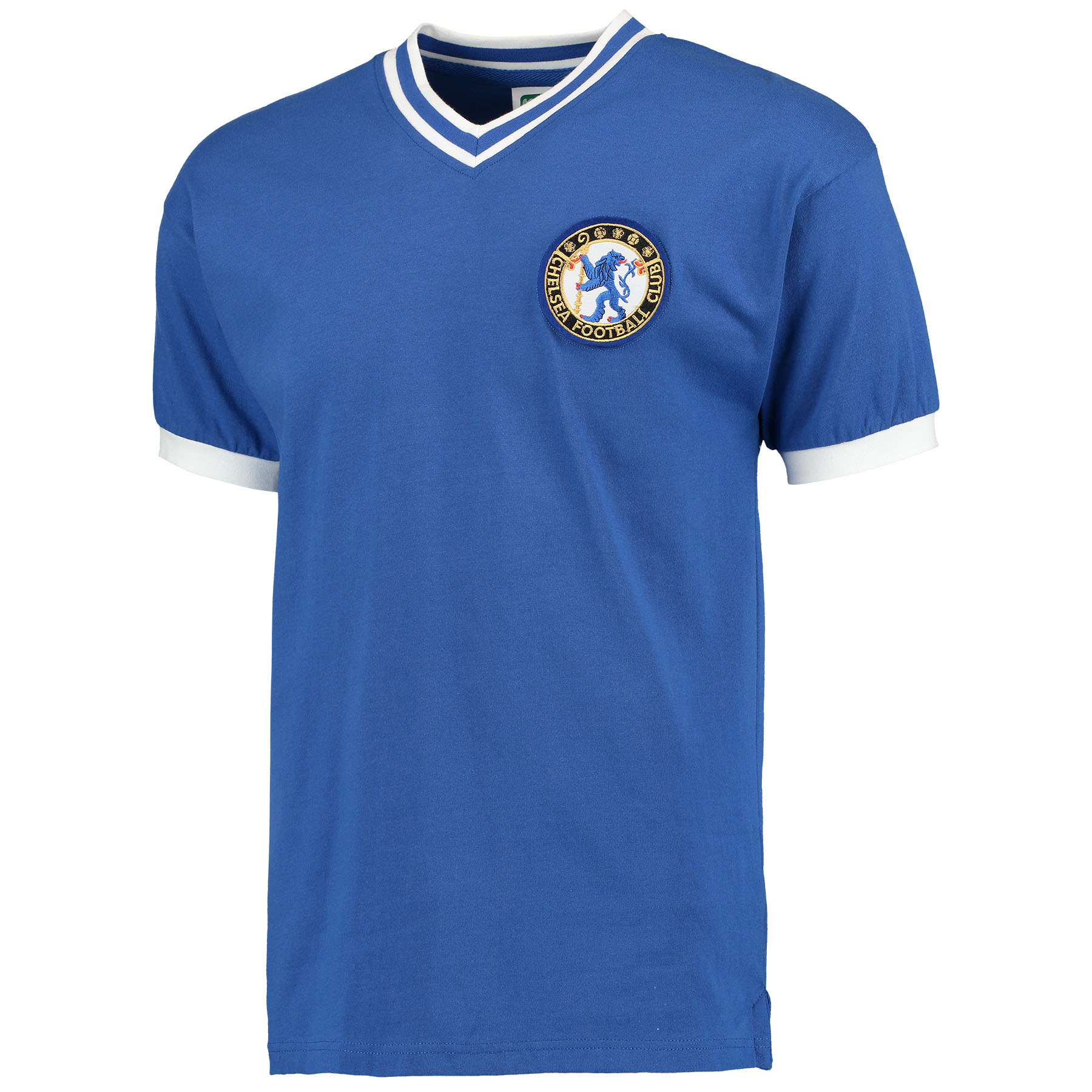 Chelsea 1960 No8 shirt   Jimmy Greaves scored on his Chelsea debut in an opening day 1-1 draw at Tottenham Hotspur at the start of the 1957-58 season. In all, he scored 132 goals in 164 games for Chelsea. In his final season at Stamford Bridge in 1960-61 Greaves scored 41 league goals in the 40 league games he appeared in, and every one of them whilst wearing the No8 shirt.
