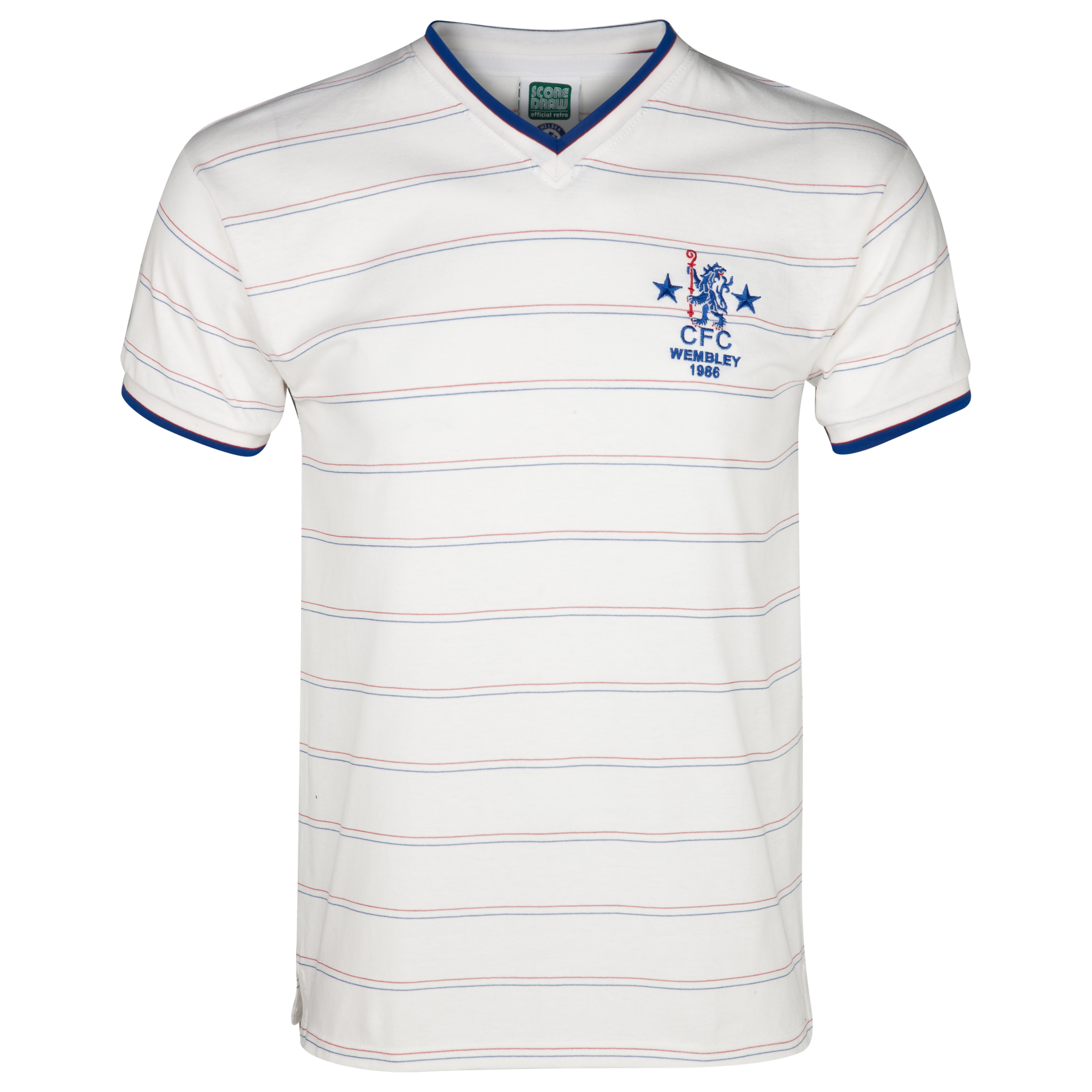 Chelsea 1986 Full Members Cup Final shirt